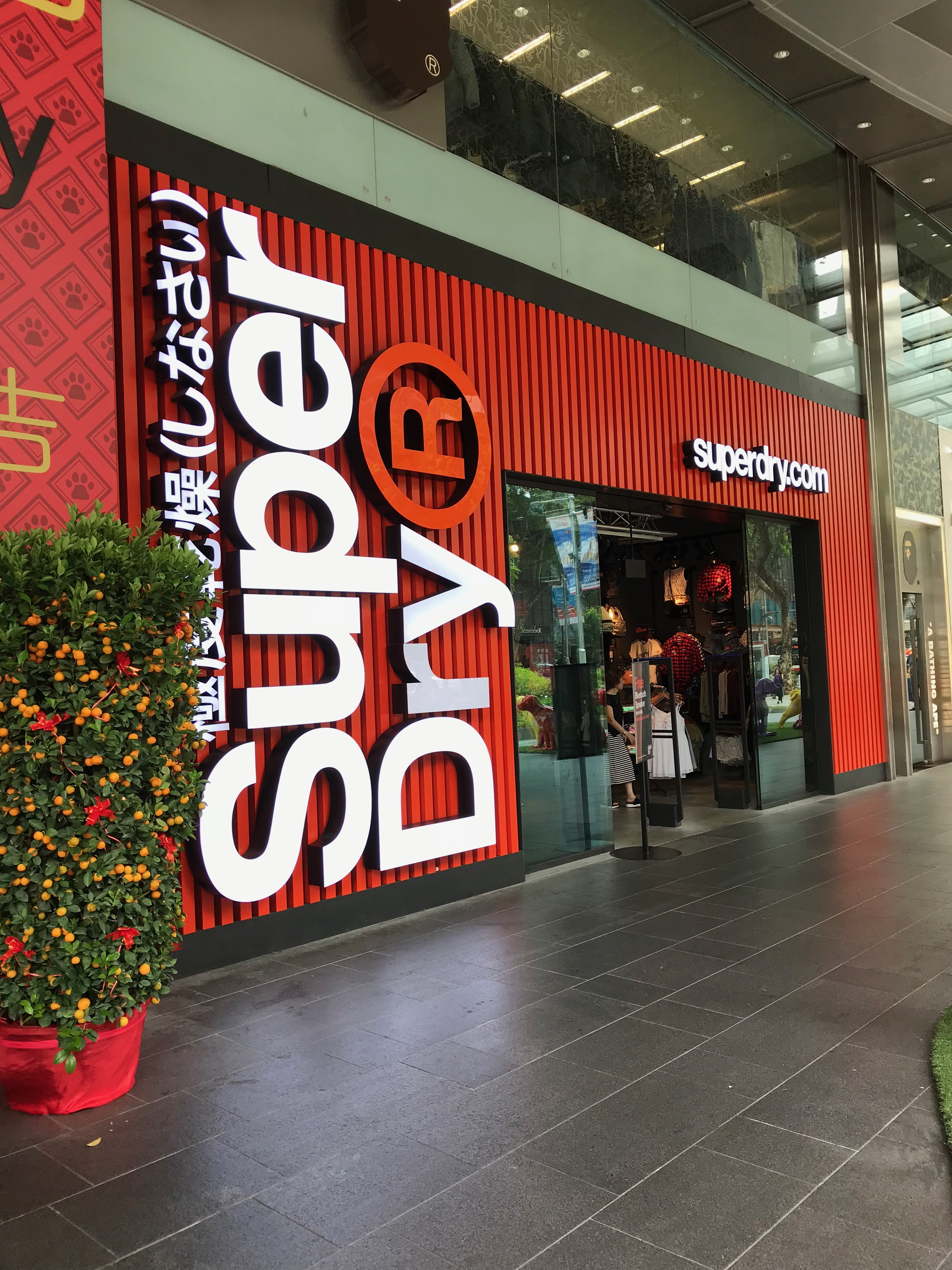 superdry シンガポール