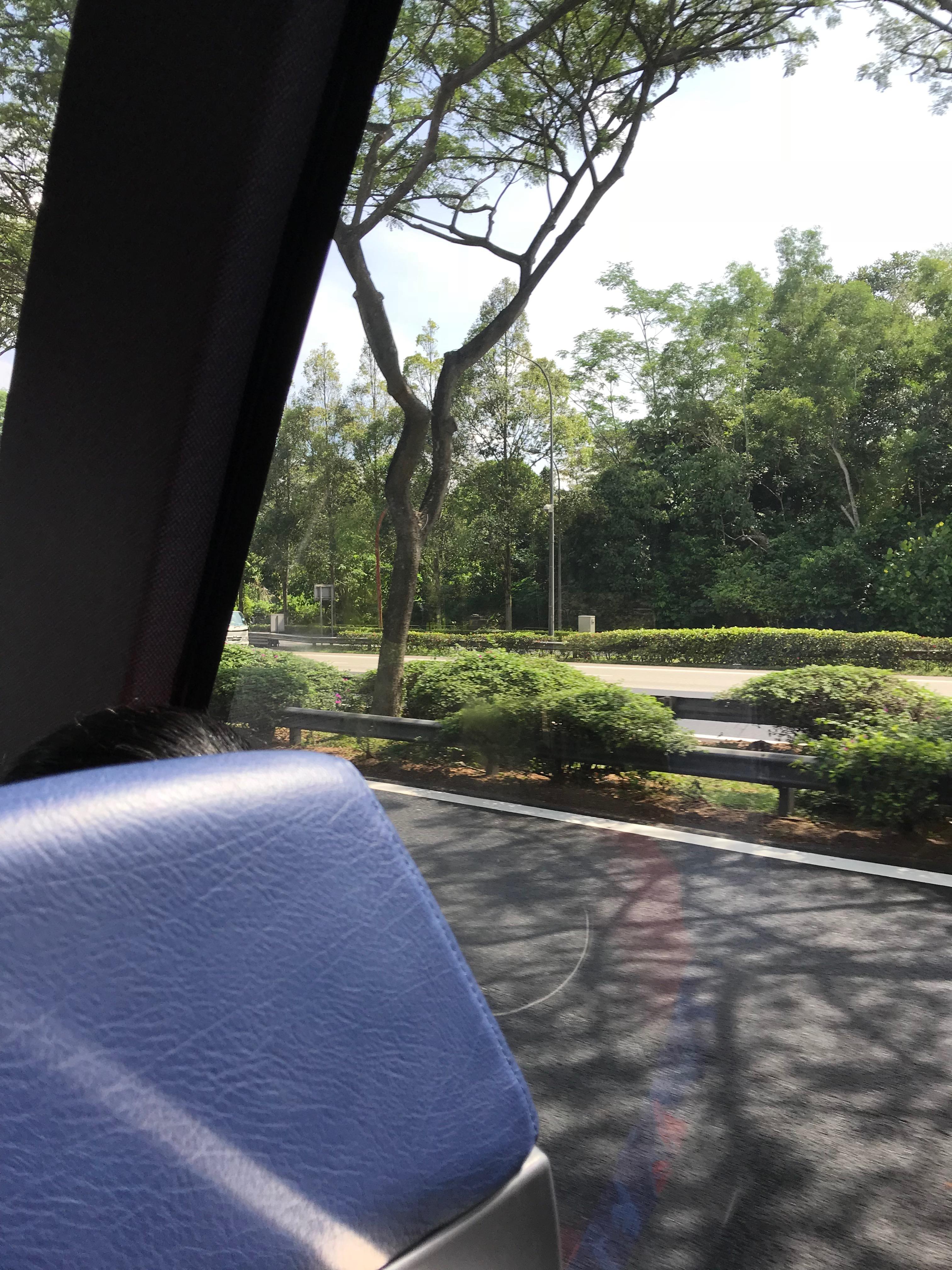 シンガポール、マレーシア間バス