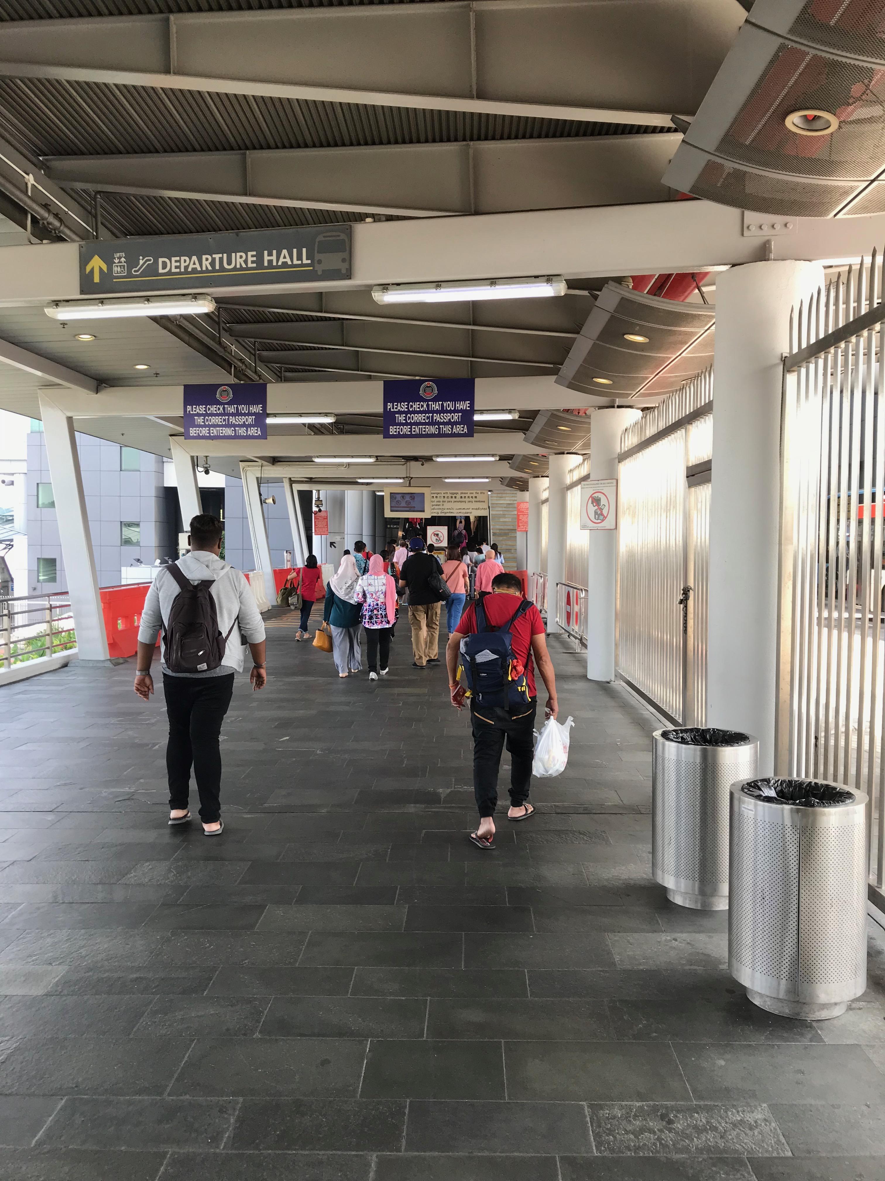 シンガポール国境