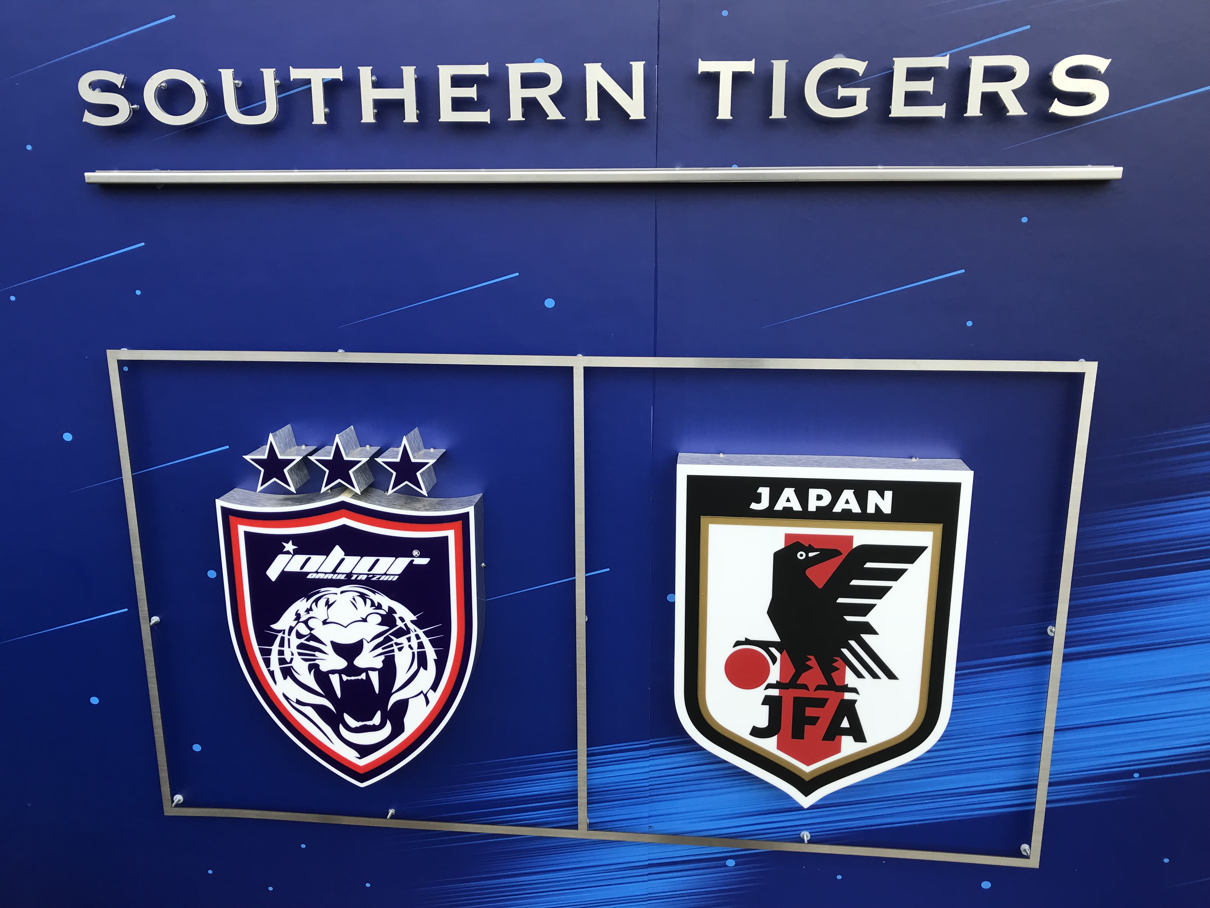 日本代表 ラルキンスタジアム