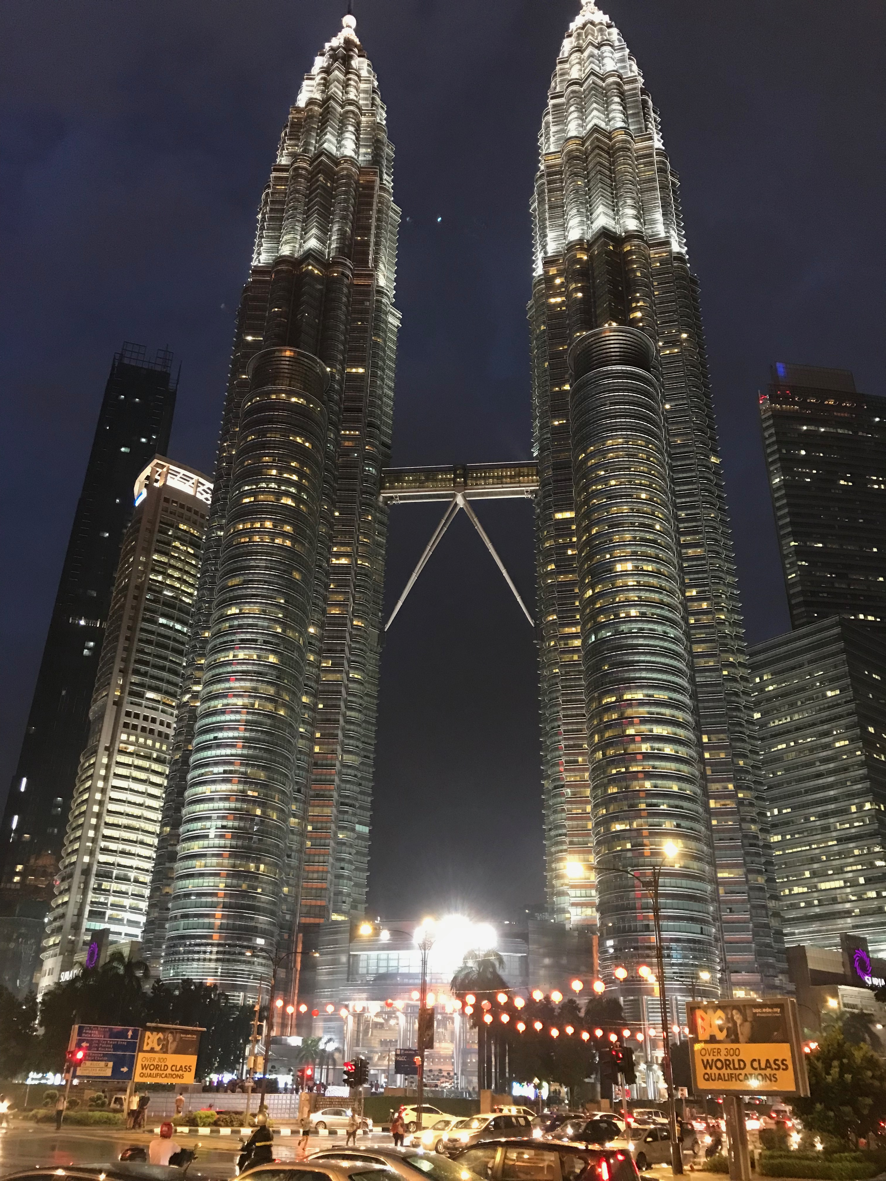 ペトロナスツインタワー