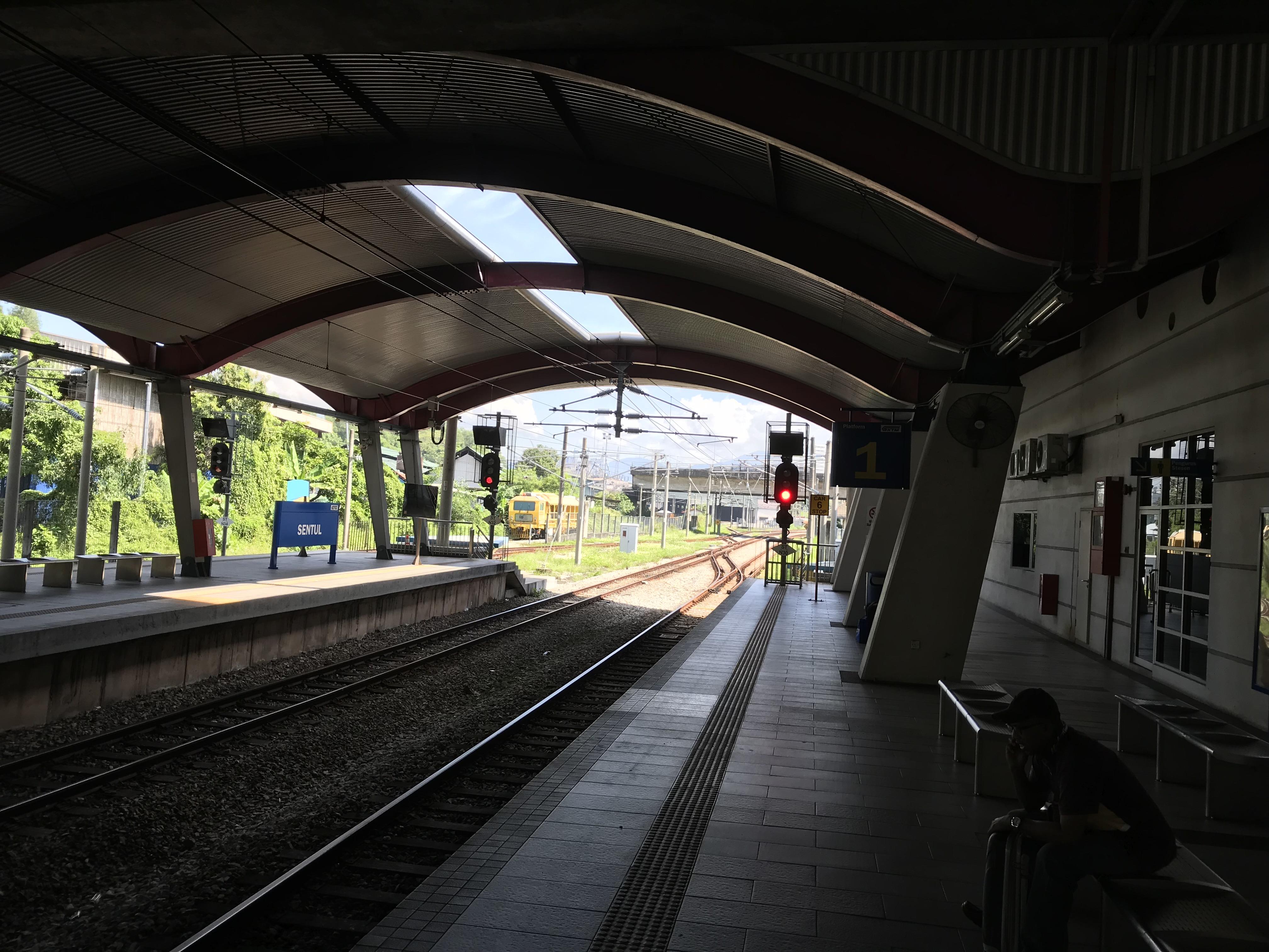 sentul駅 ホーム