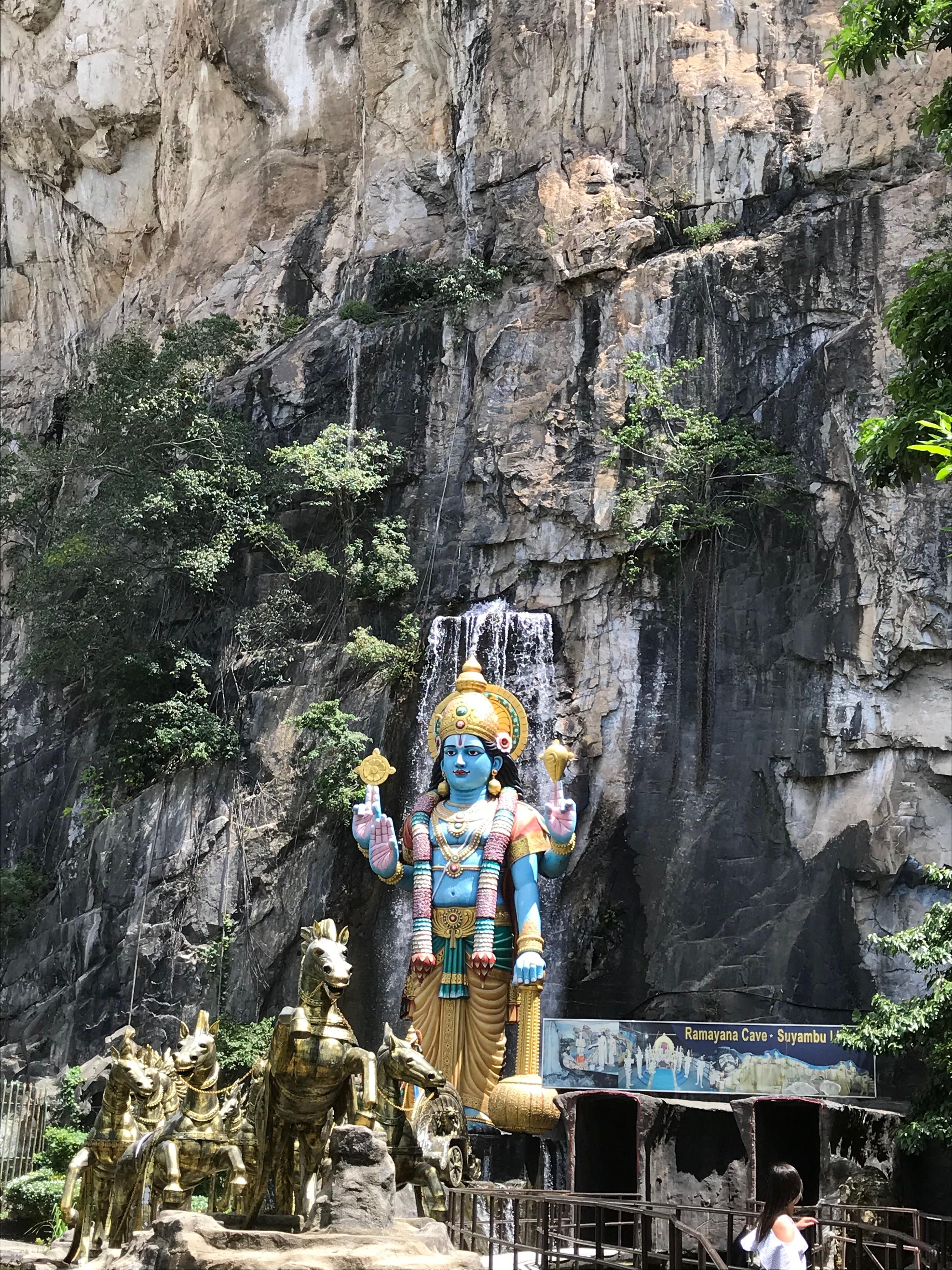 バトゥ洞窟までの道中