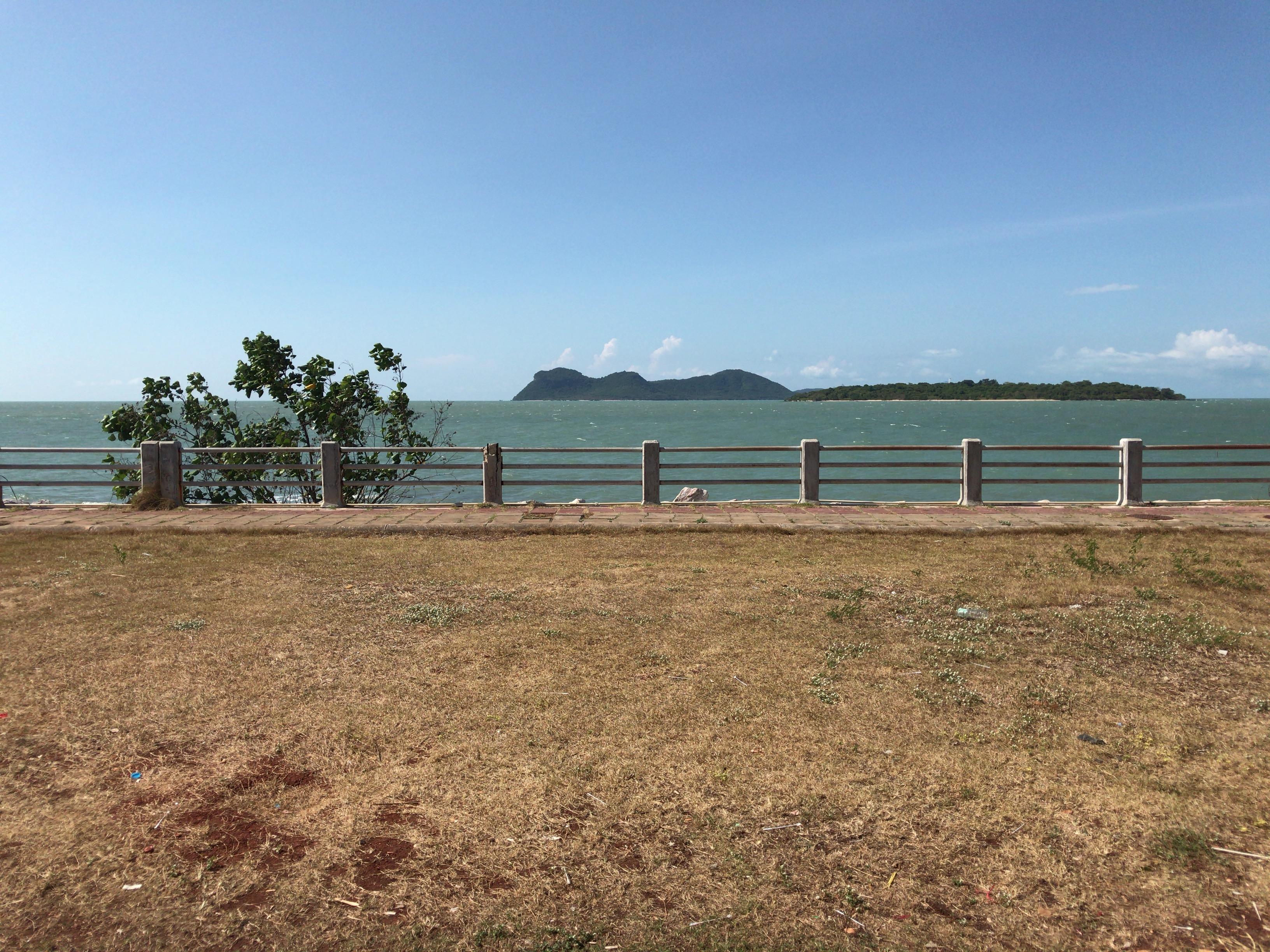 サムイ島へのフェリー乗り場