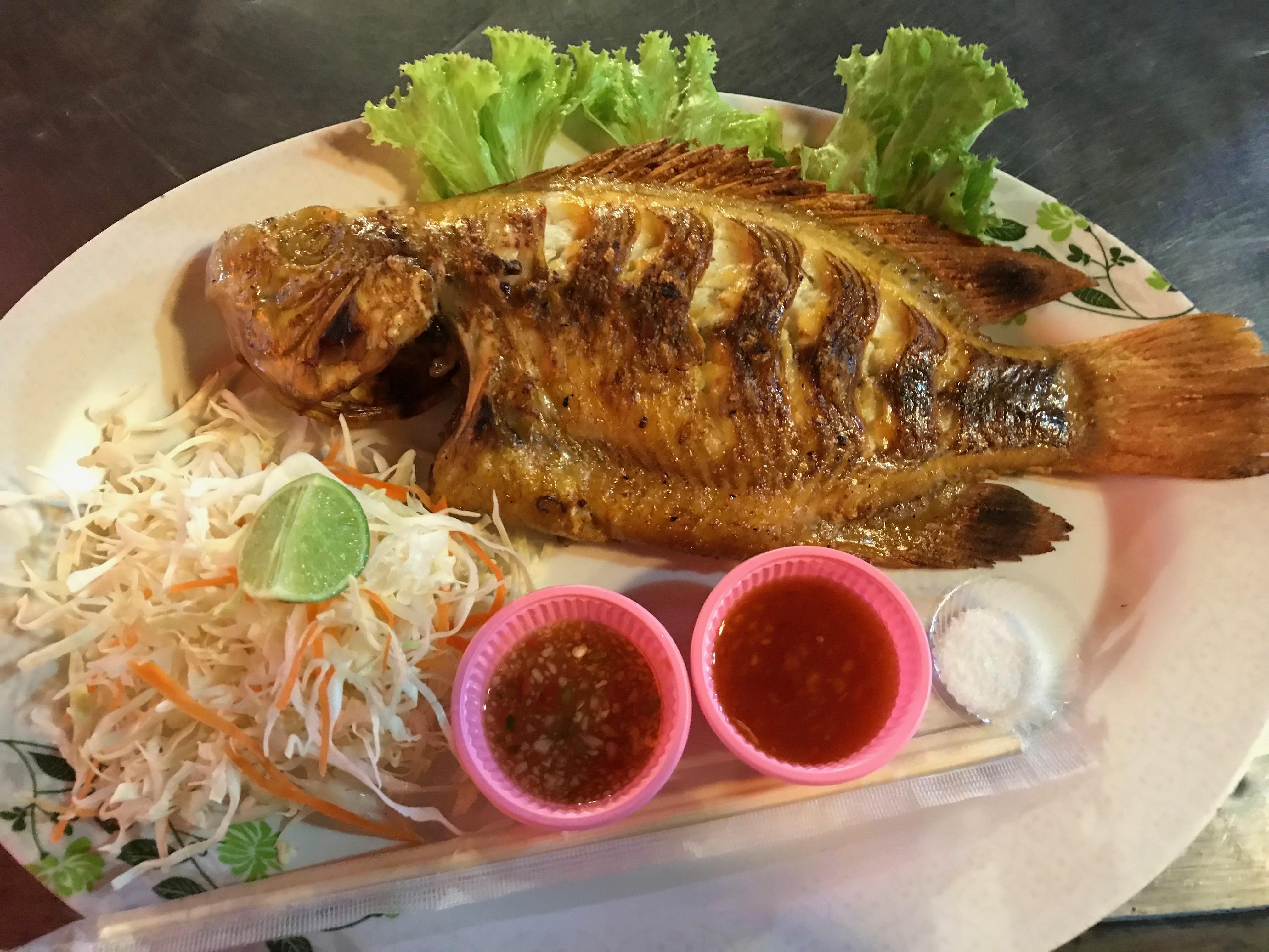 サムイ島 晩飯