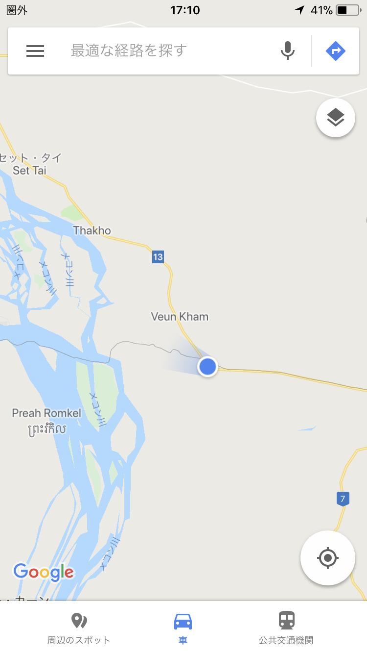 カンボジア ラオス国境
