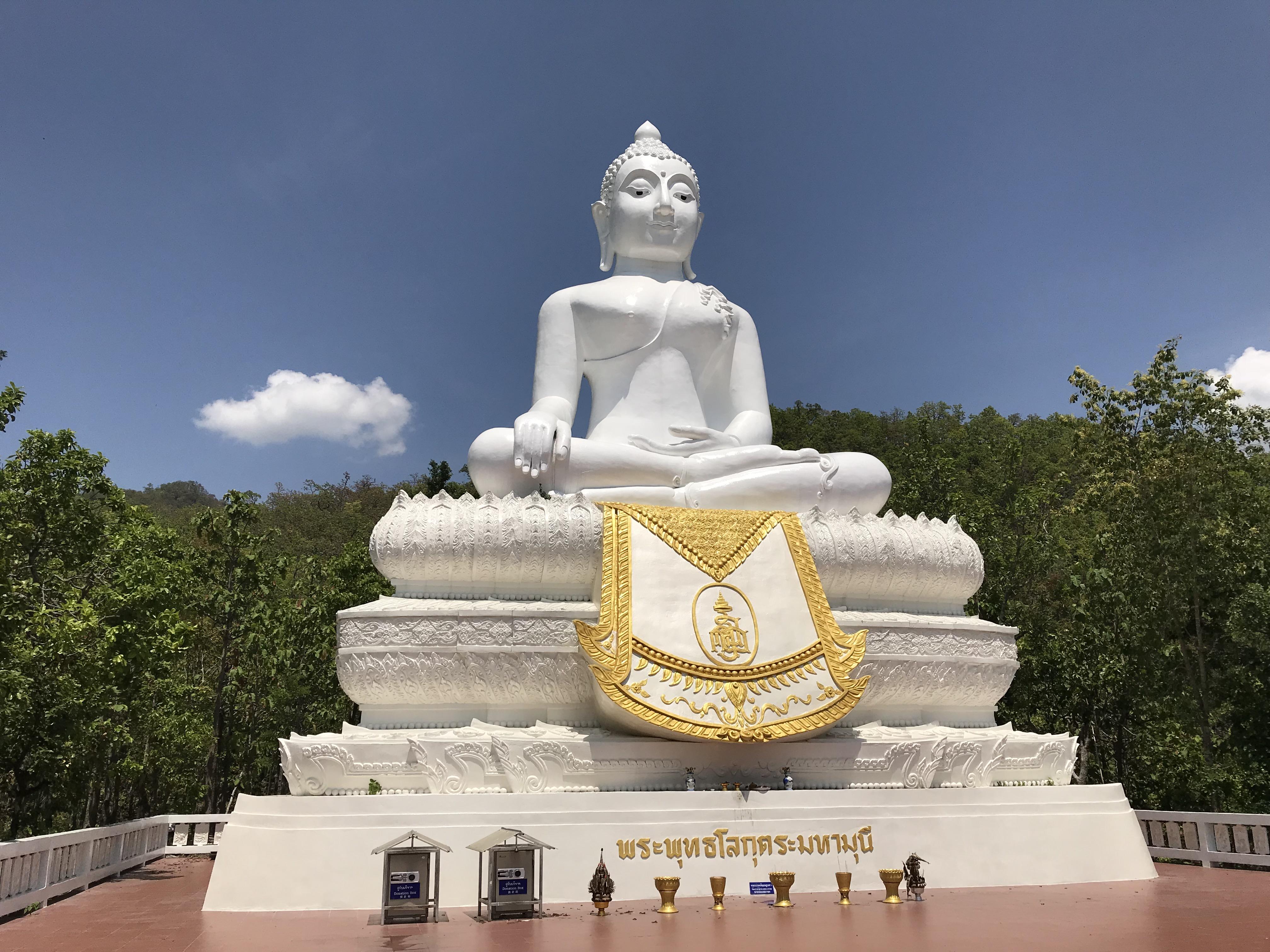 pai white buddha
