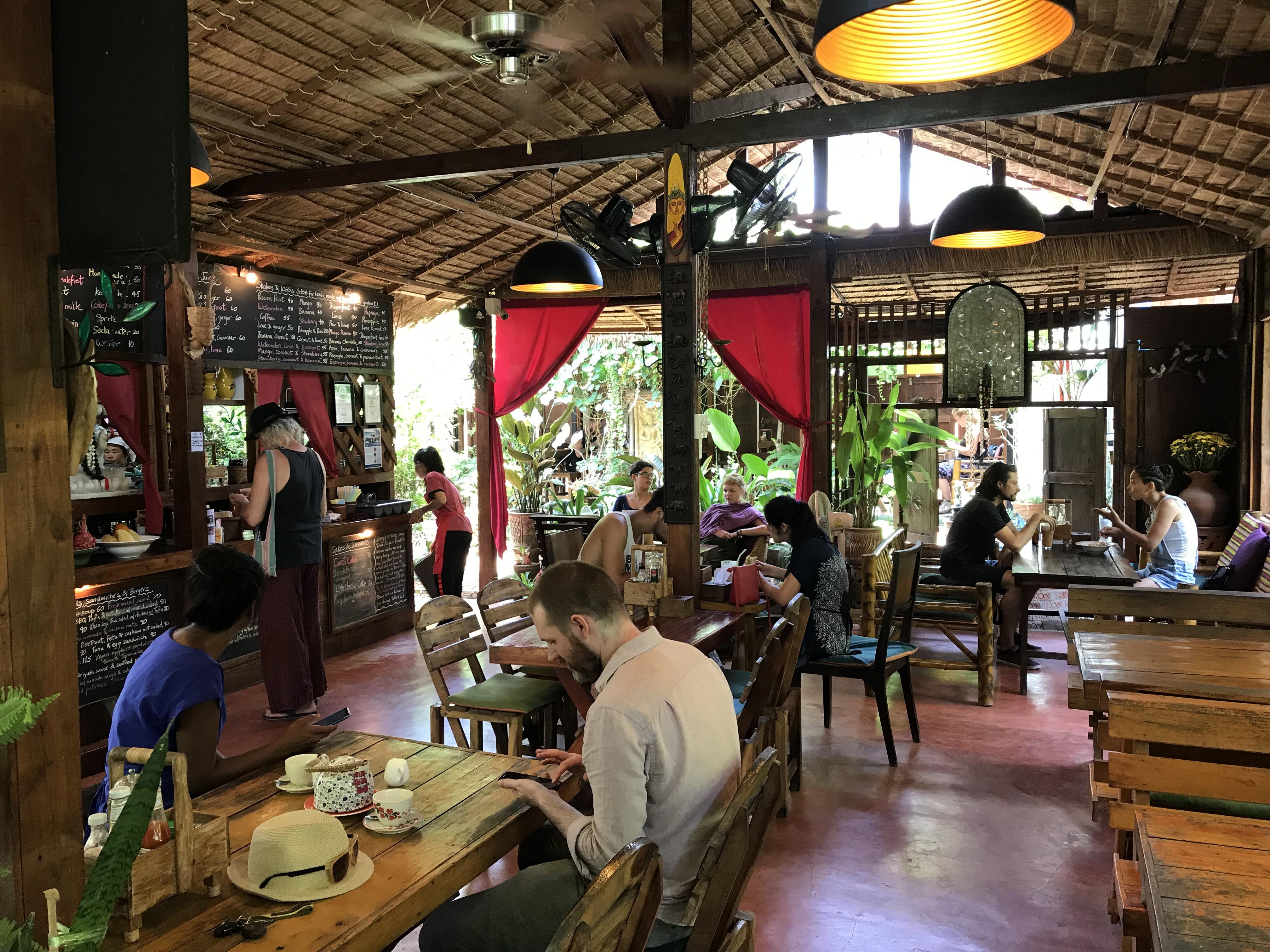 Om Garden Cafe