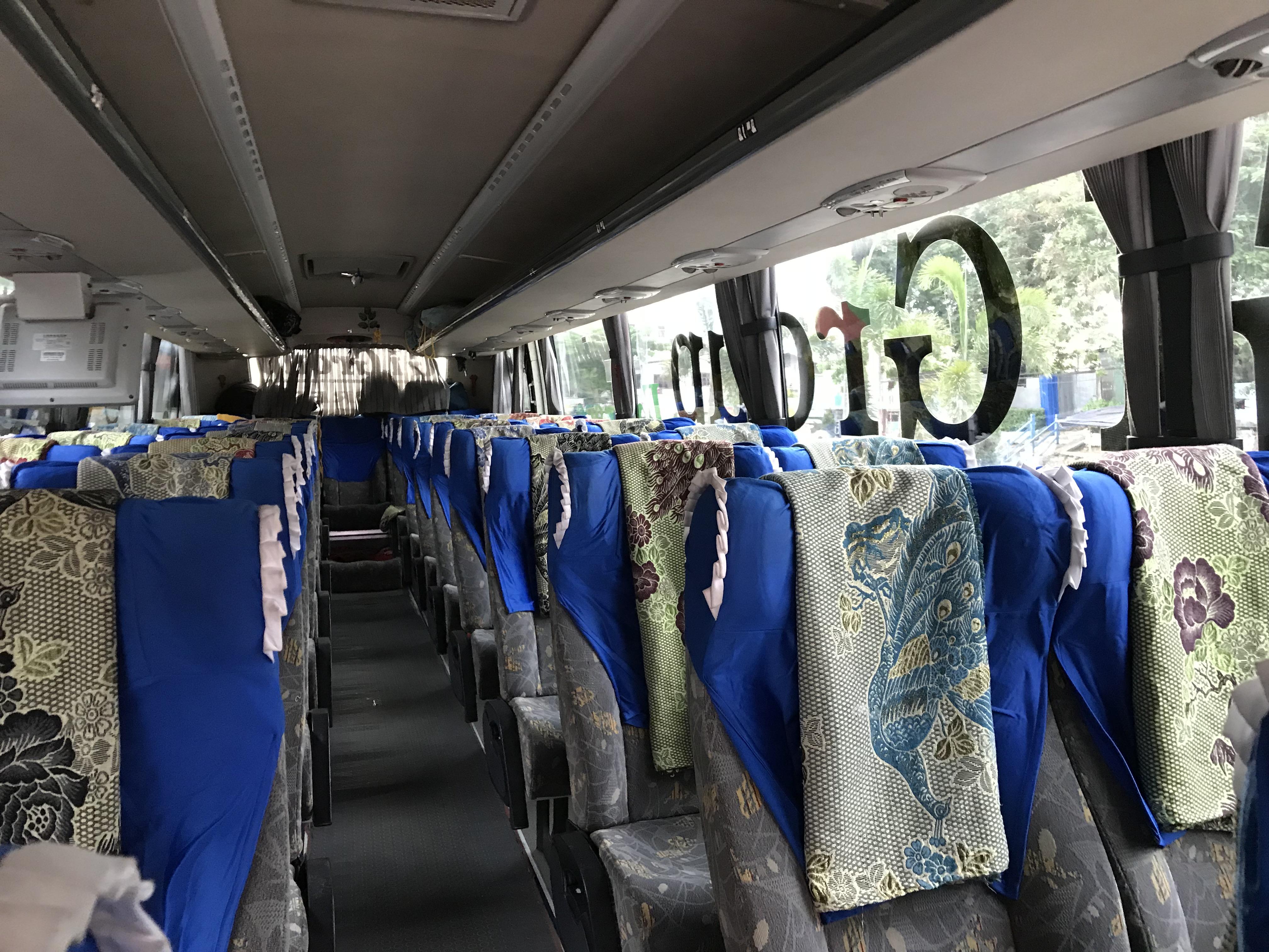 ミャワディ〜ヤンゴン バス