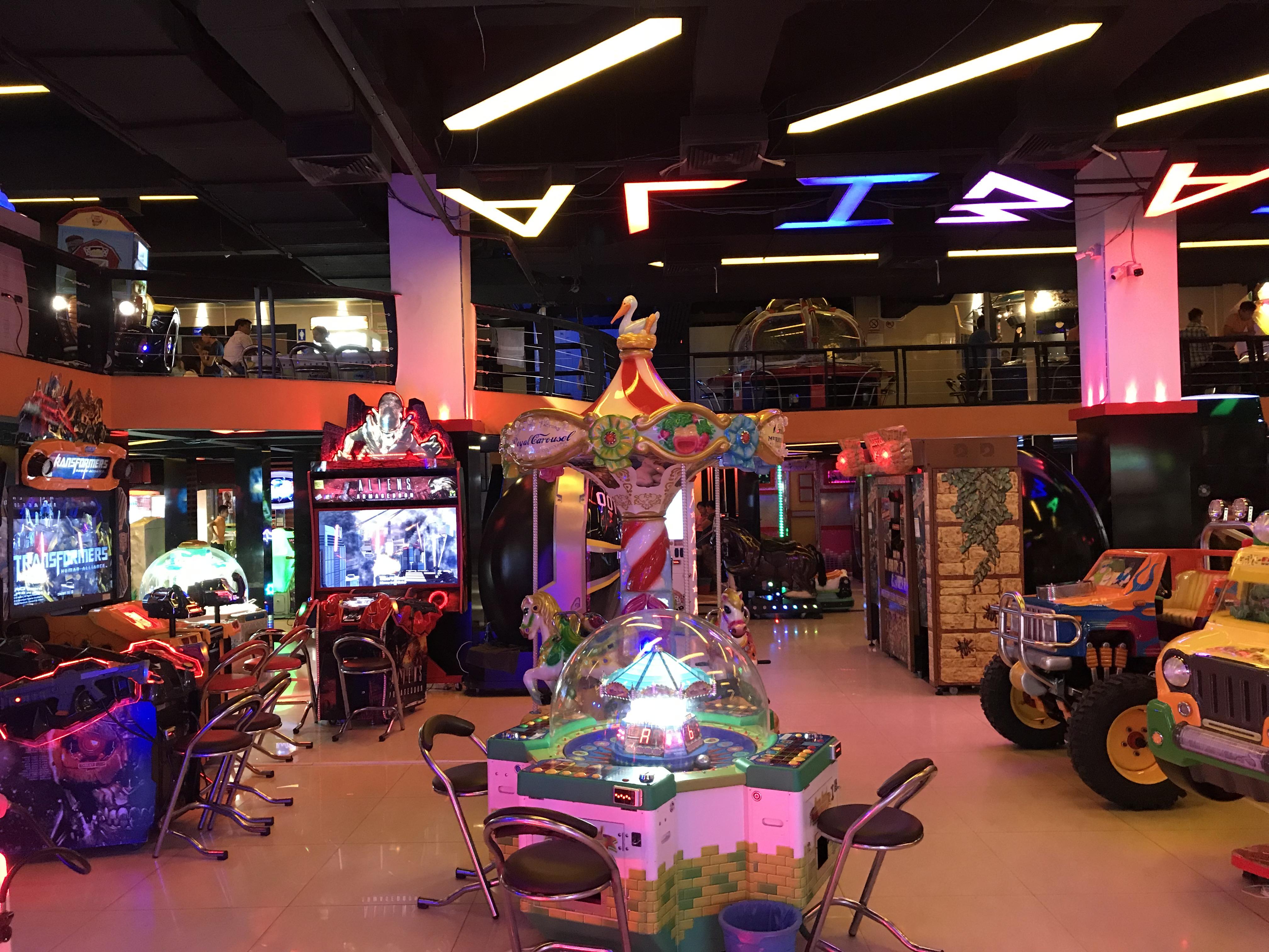 ヤンゴン ゲームセンター
