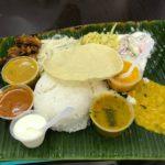 シンガポールのリトルインディアでミールスを食べてみた