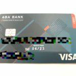 ABA Bankのキャッシュカードをついにゲット