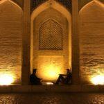 イスファハーンのイマーム広場とハージュ橋