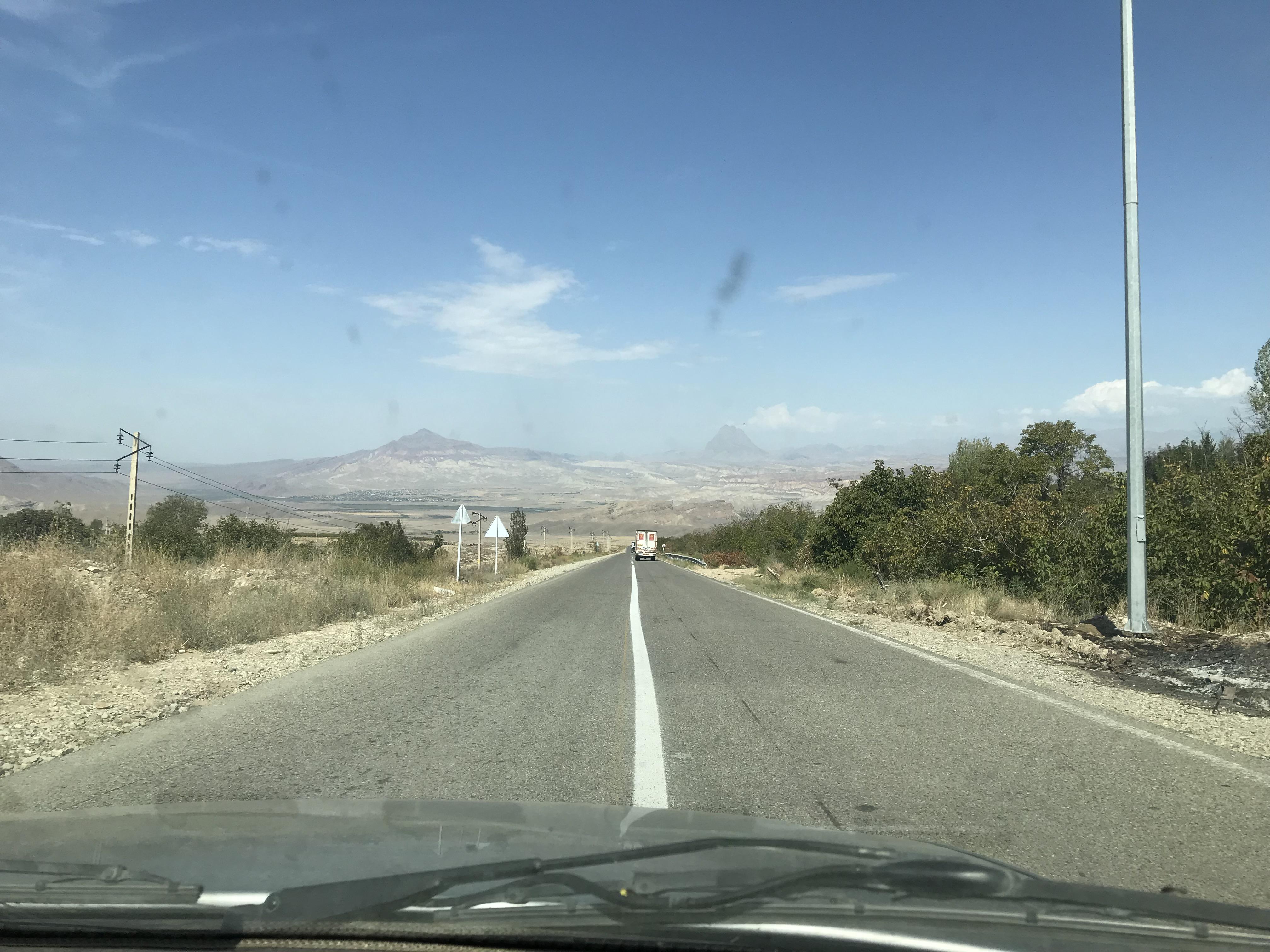 イランからアルメニア