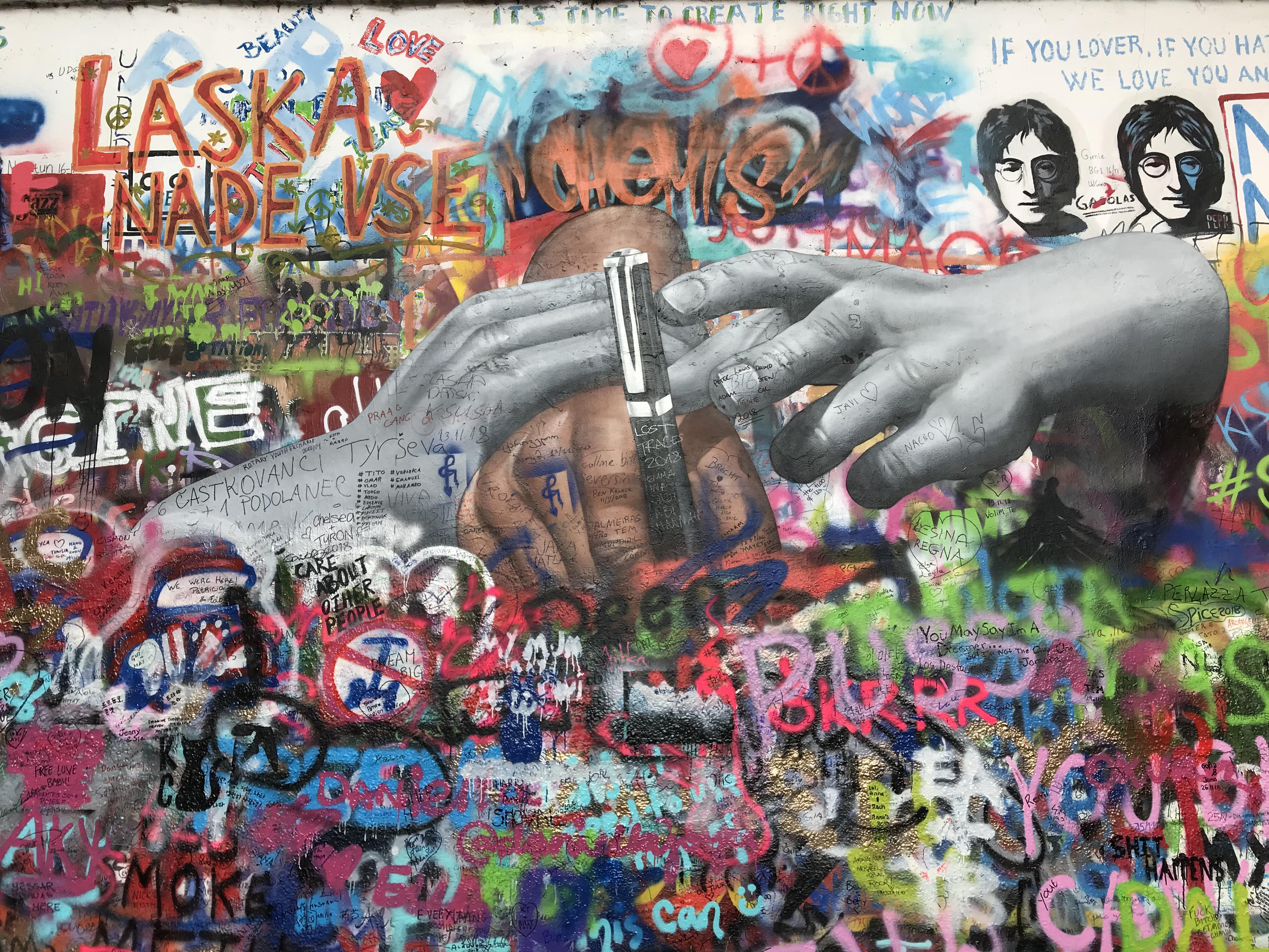 ジョン・レノンの壁