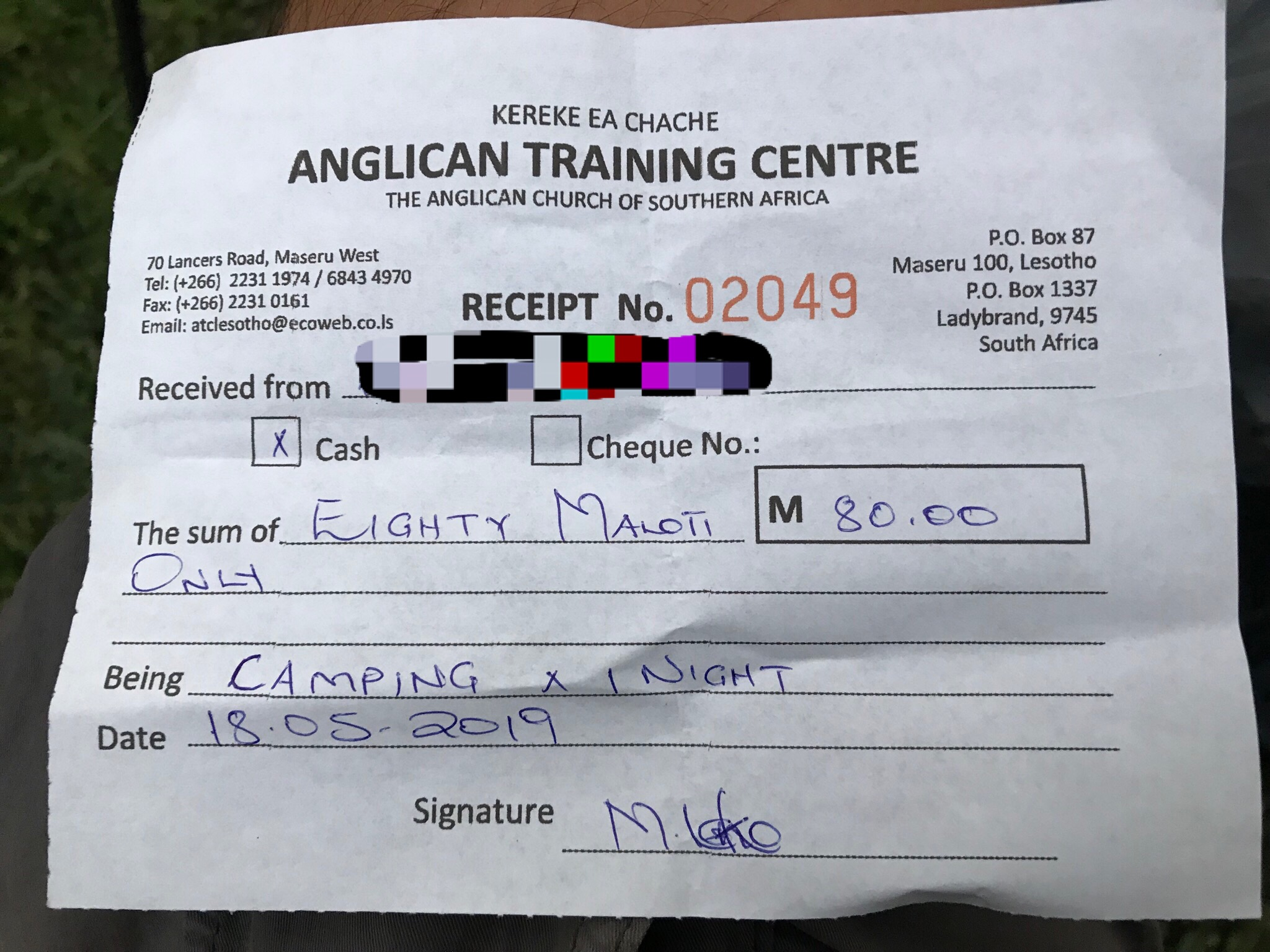 Anglican Trainning Center