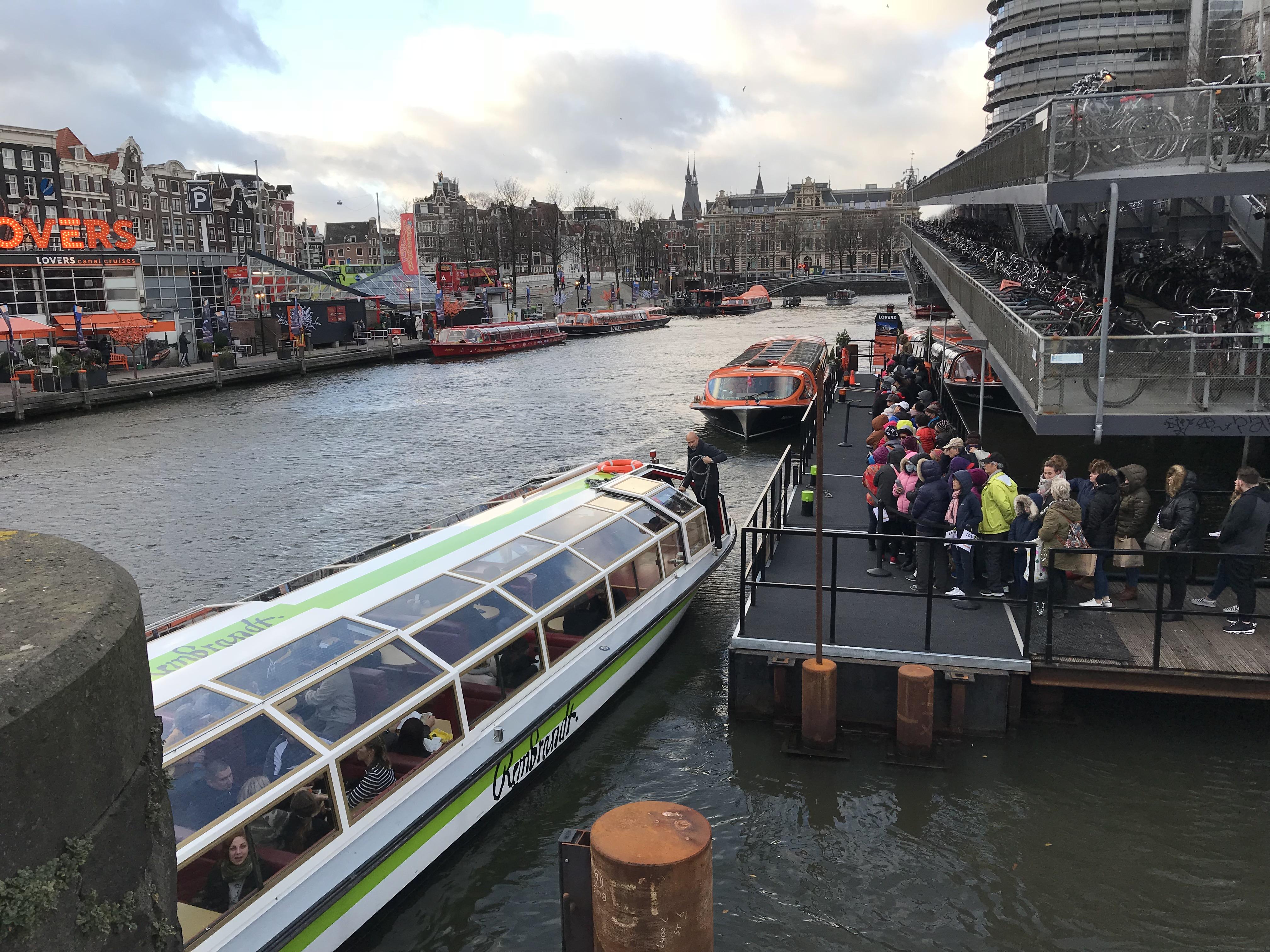 アムステルダムボート