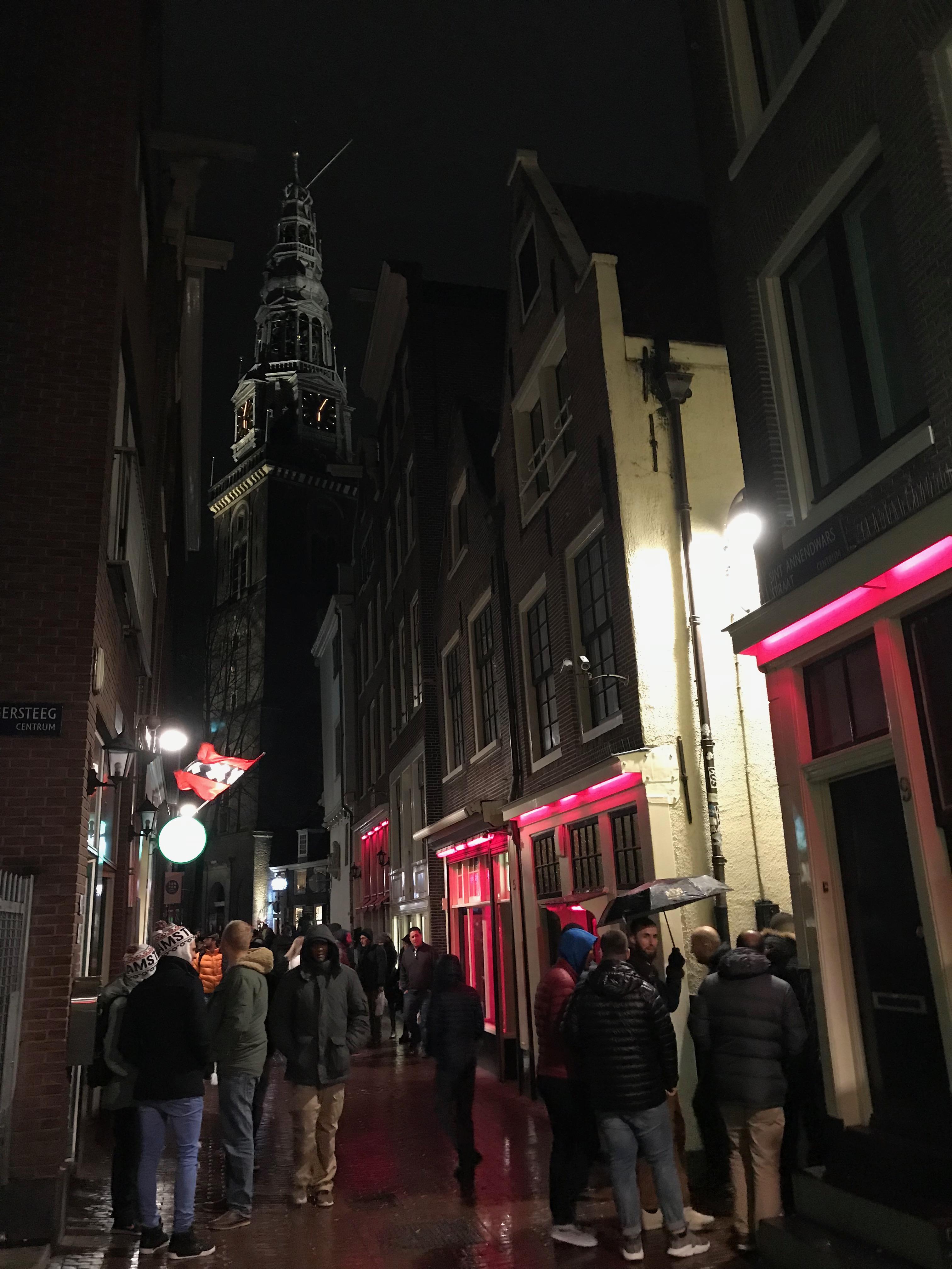 アムステルダム飾り窓