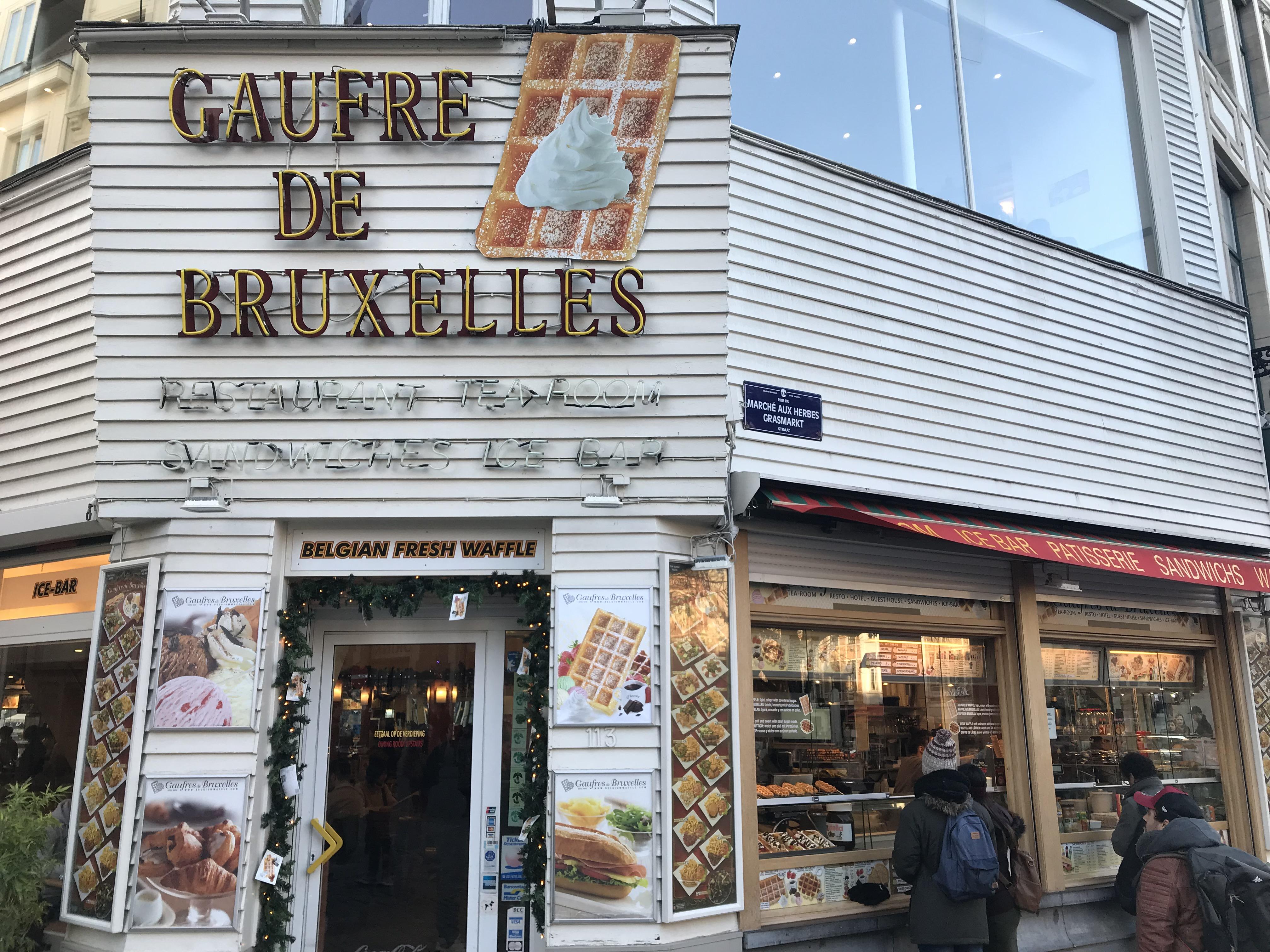 Aux Gaufres De Bruxelles