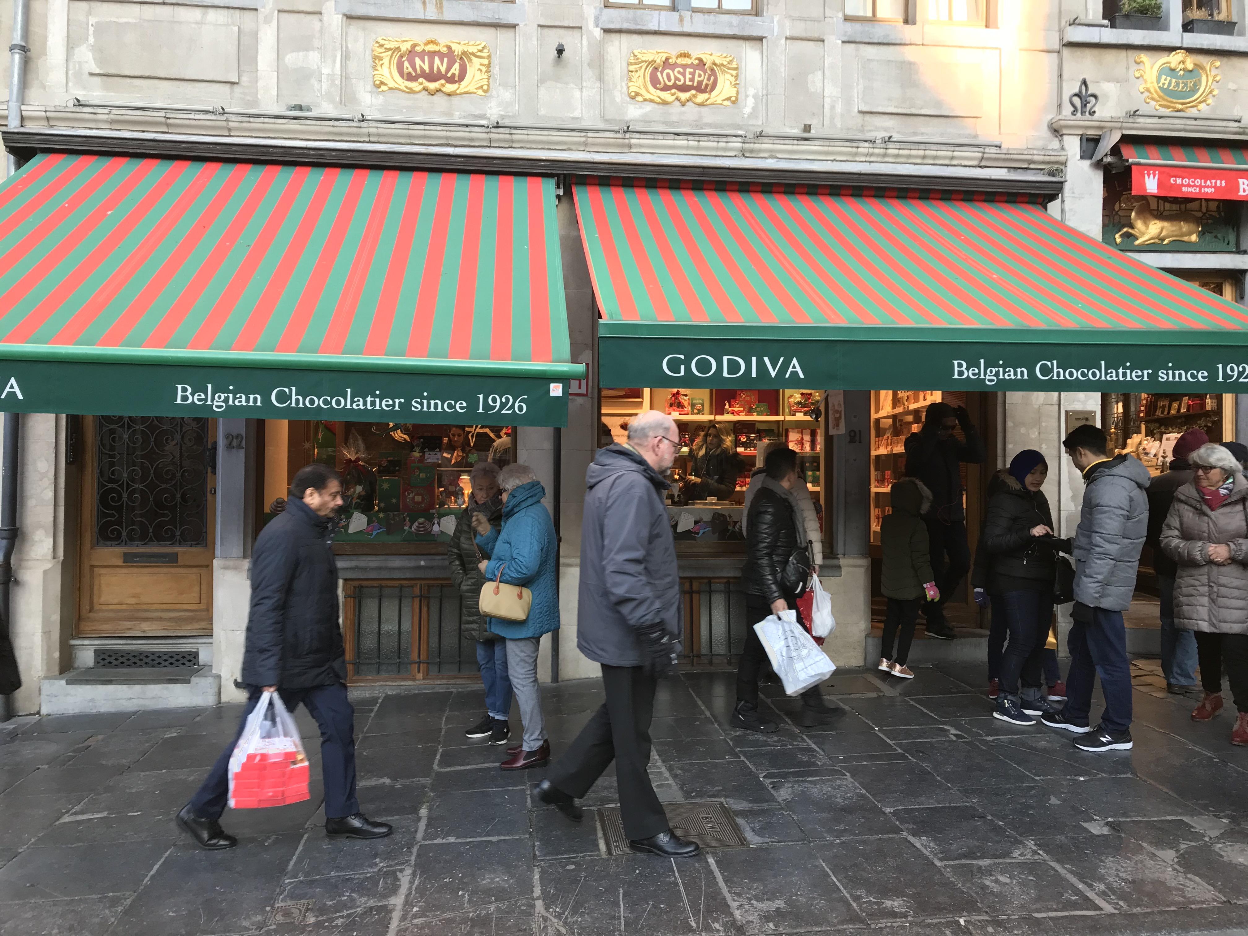 ゴディバ本店