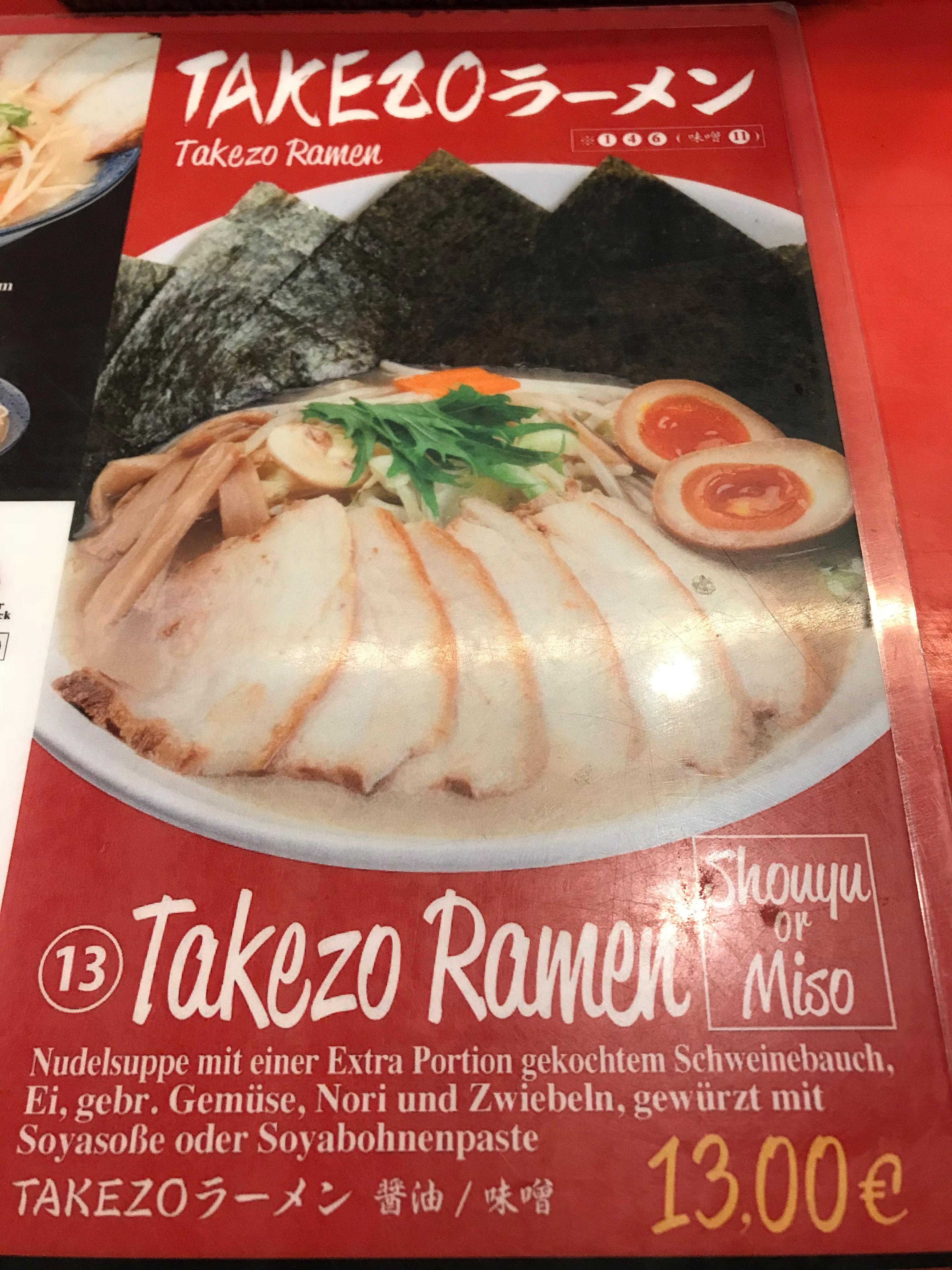 Takezo Ramen