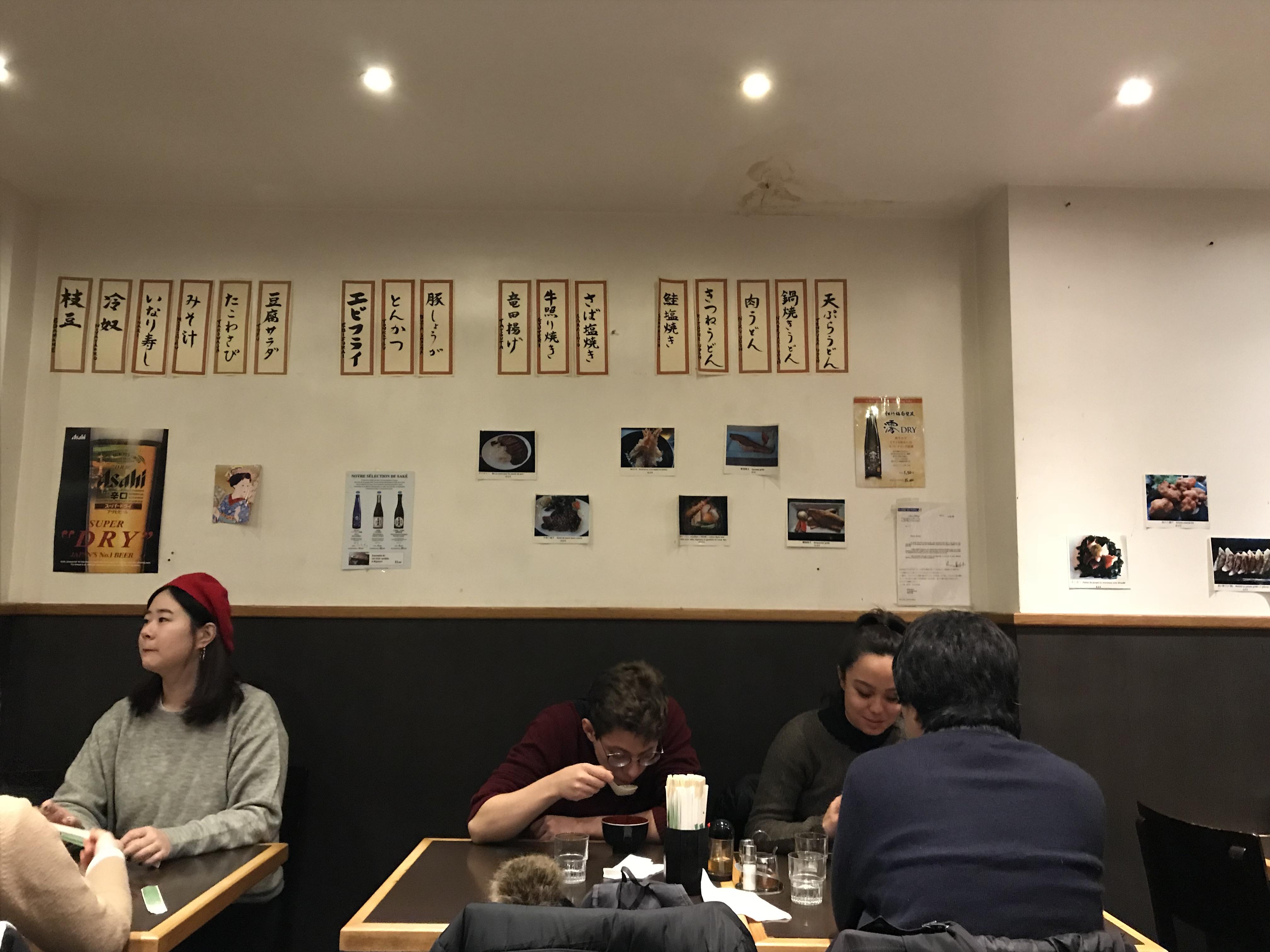 パリ日本食レストラン