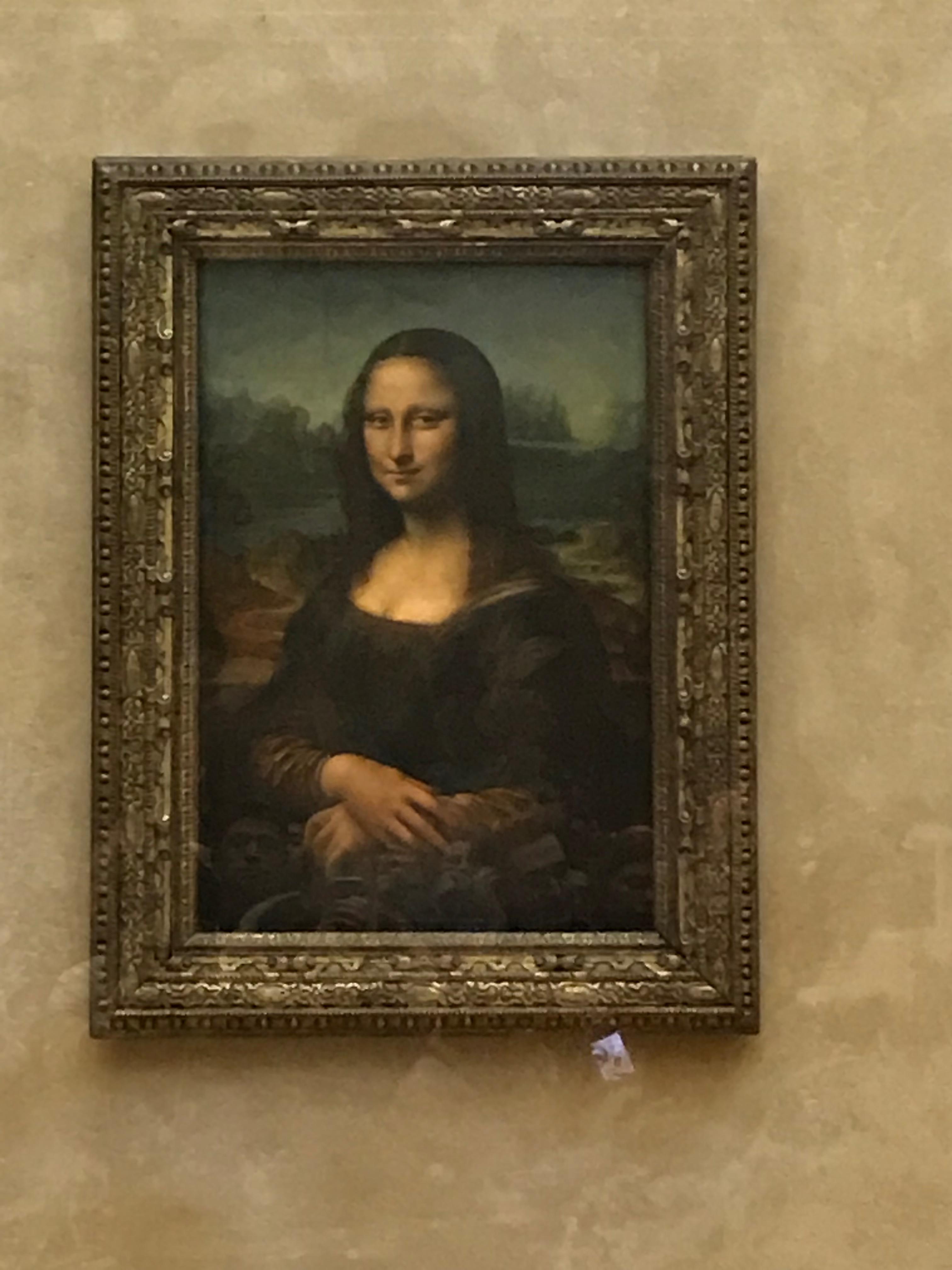 ルーブル美術館モナリザ