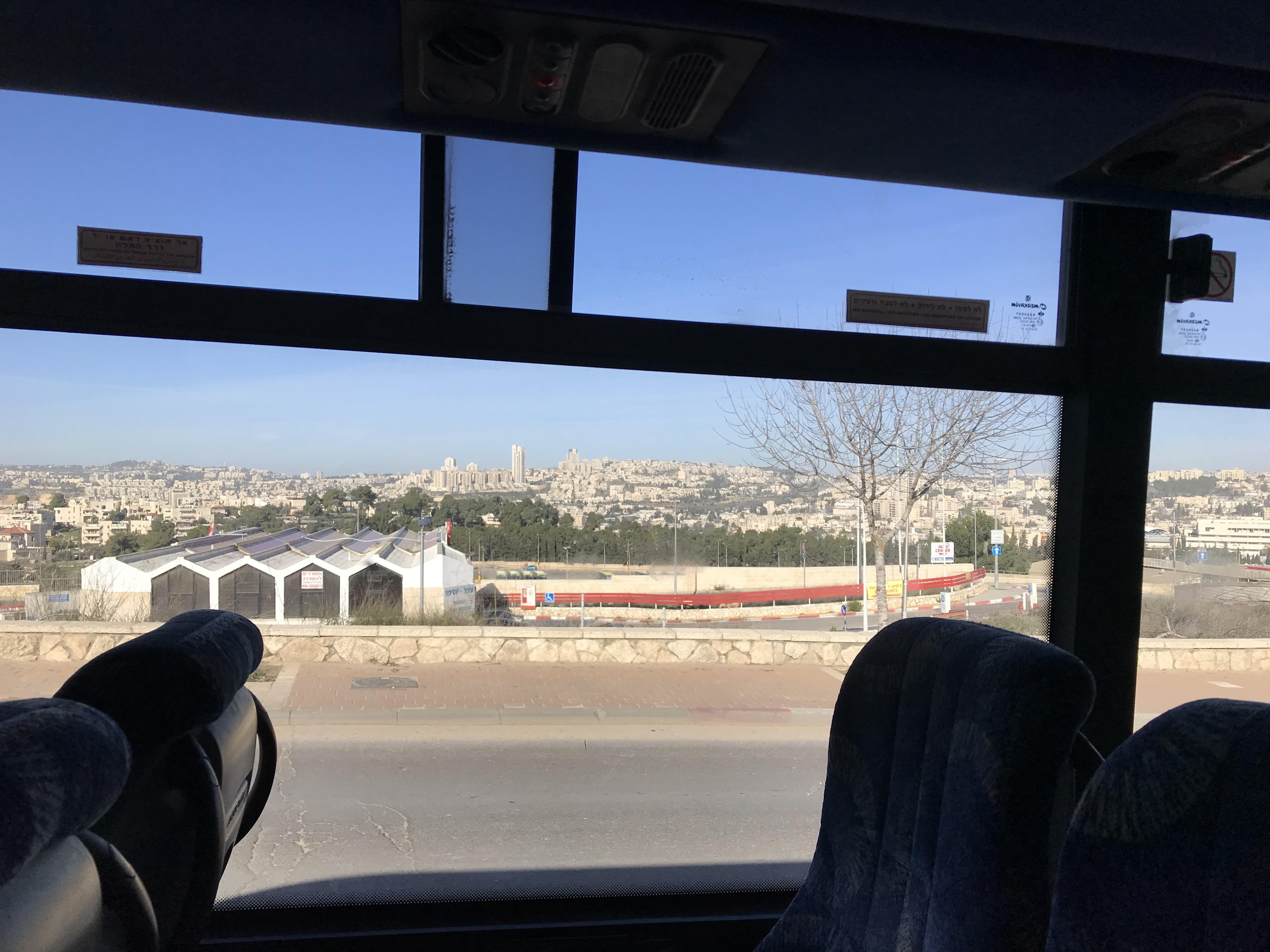 エルサレムからベツレヘム