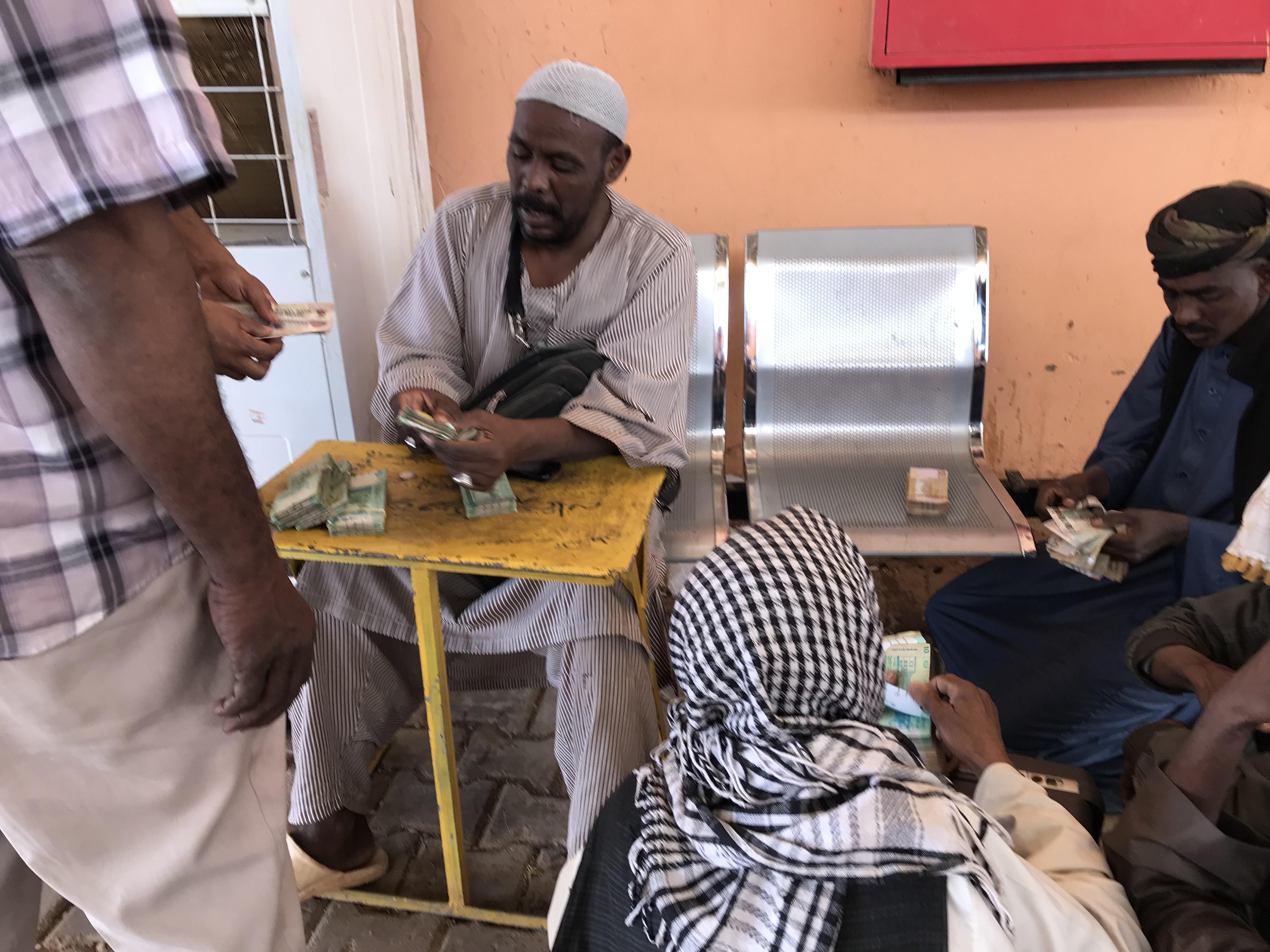 スーダン側国境