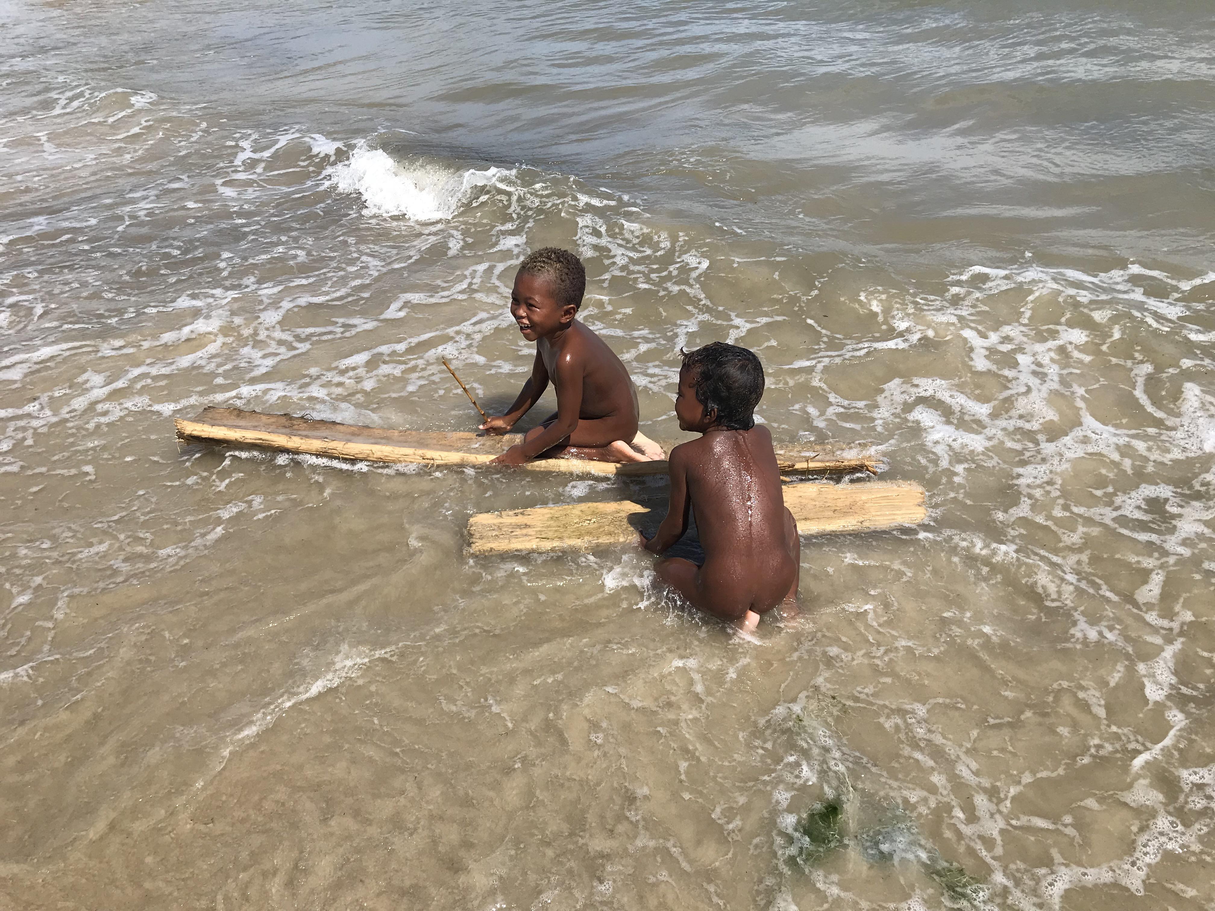 モロンダバの漁村