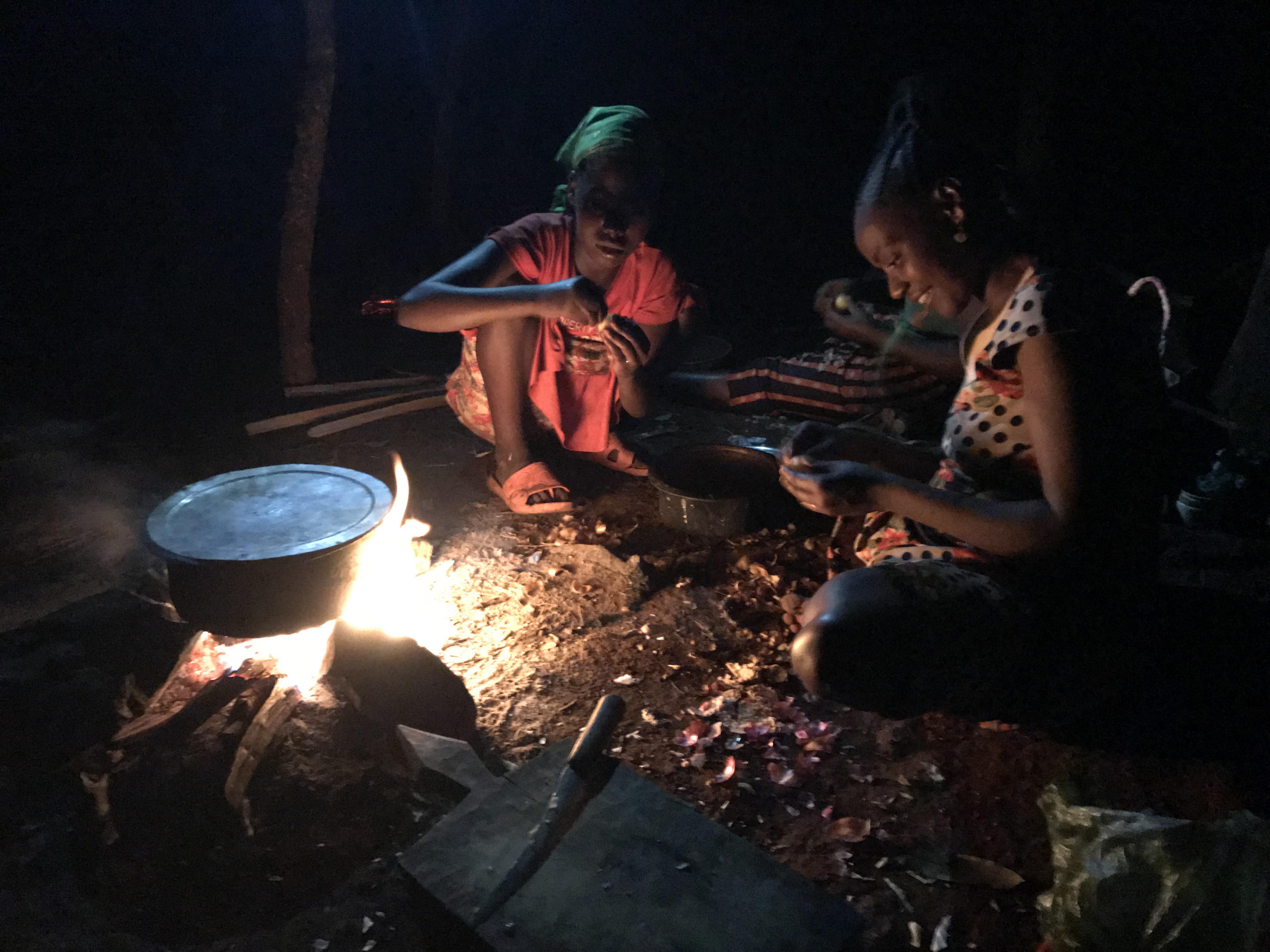 アリ族の村