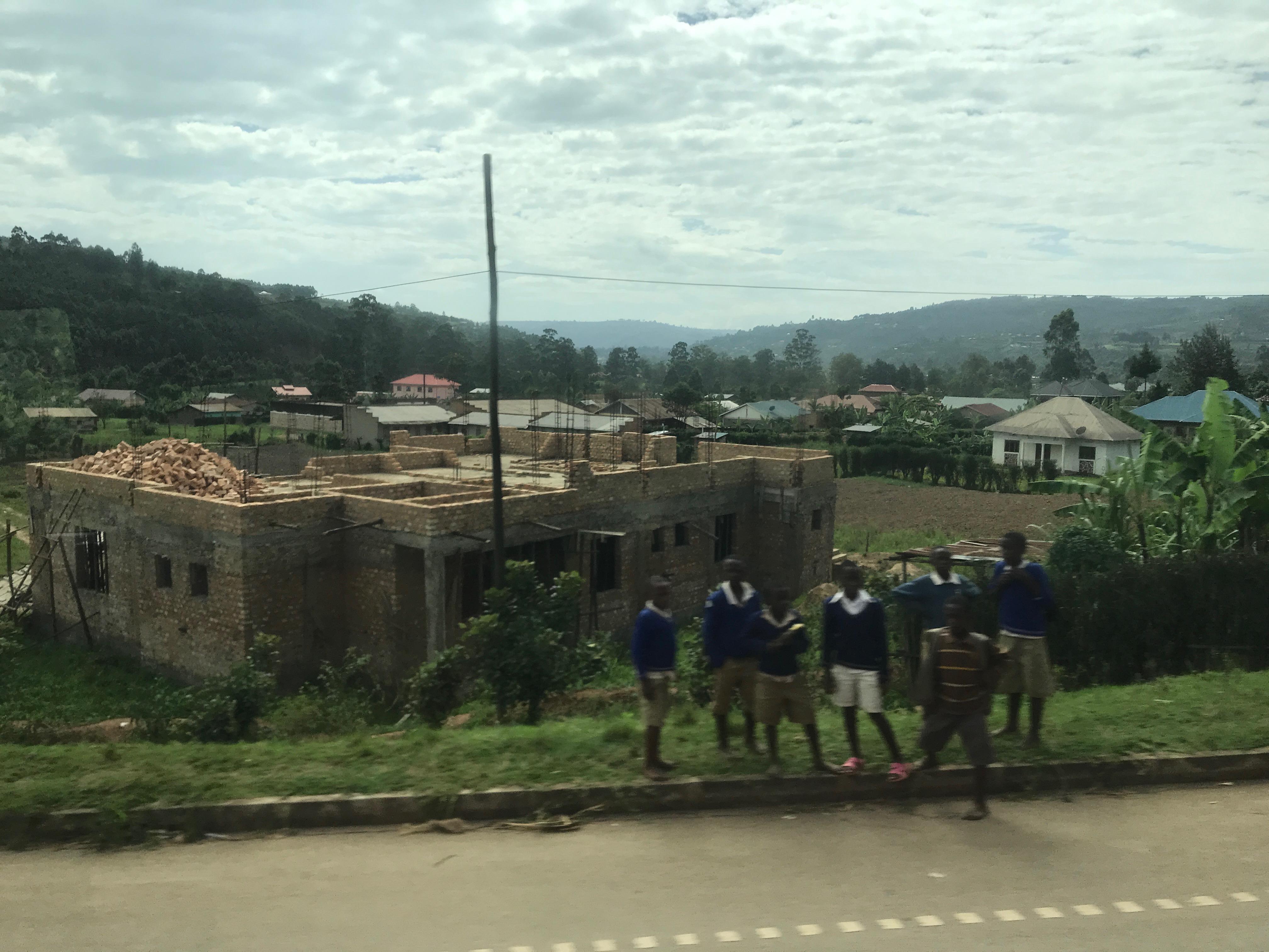 ウガンダとルワンダの国境