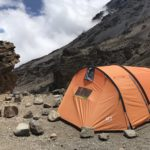 キリマンジャロ登山【5日目】山頂手前の最後のキャンプ地