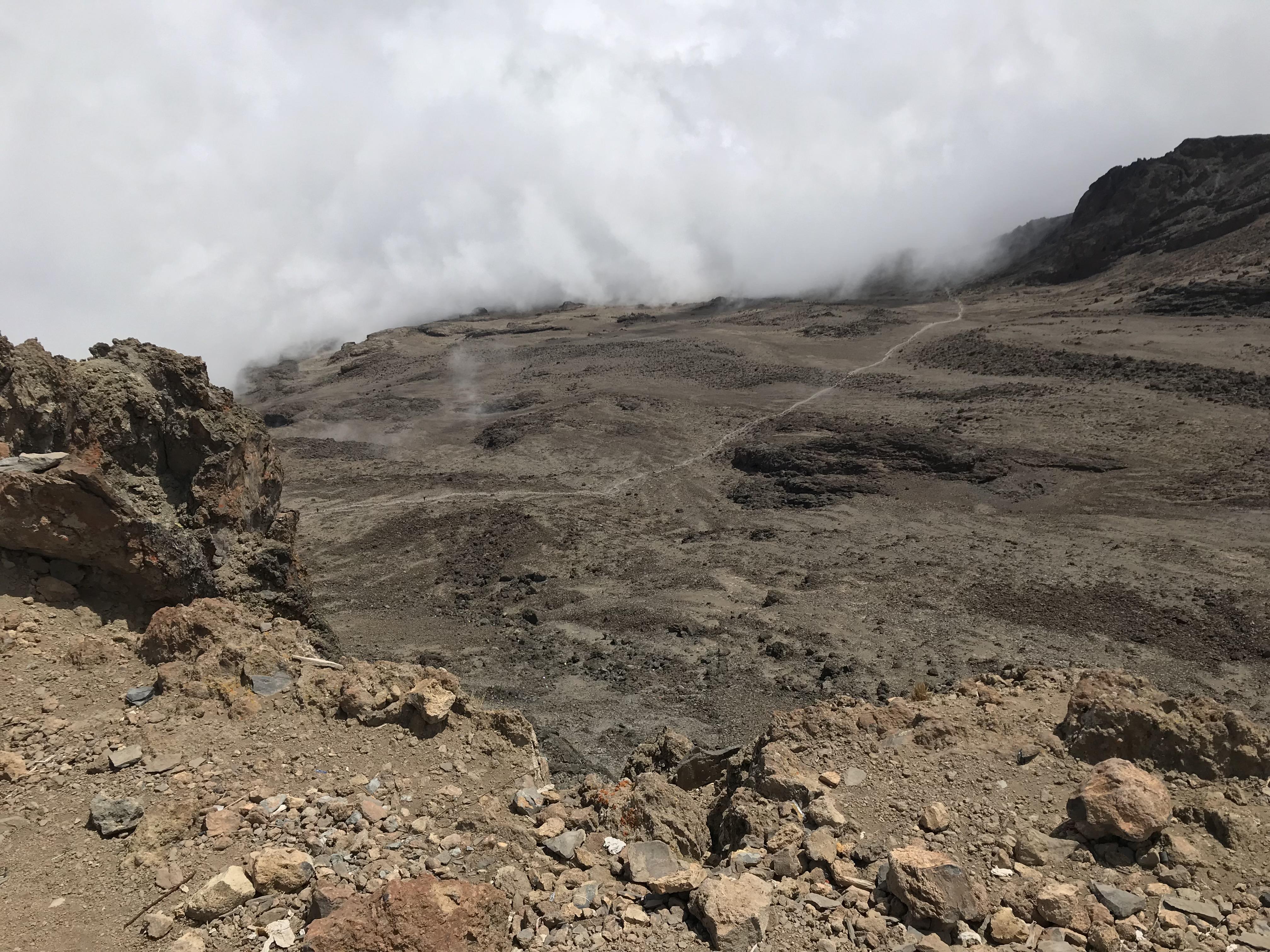 キリマンジャロ登山5日目