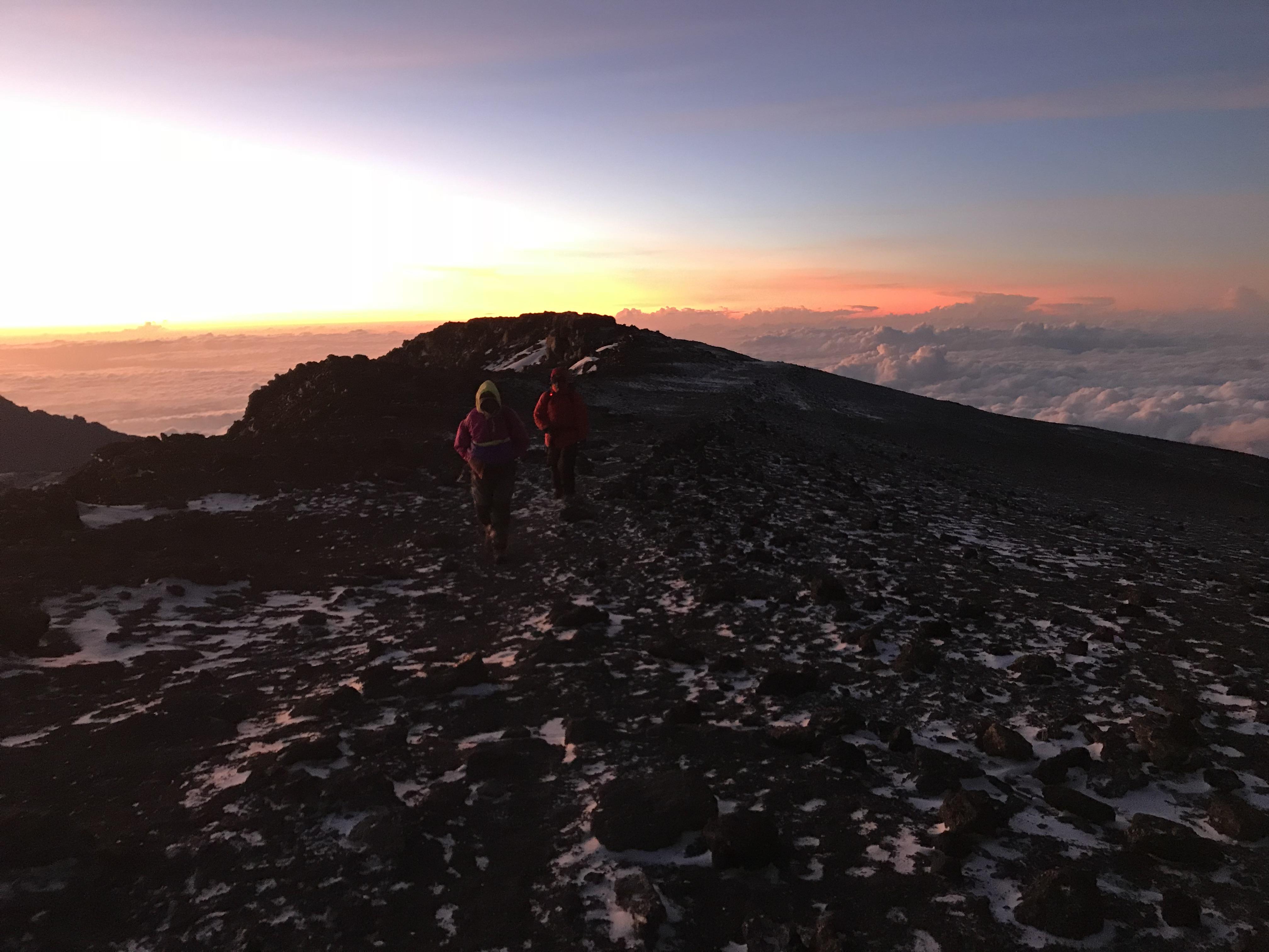 キリマンジャロ登山6日目