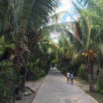 プララン島からラ・ディーグ島に移動