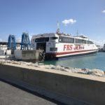 ジブラルタル海峡を船で渡りヨーロッパへ