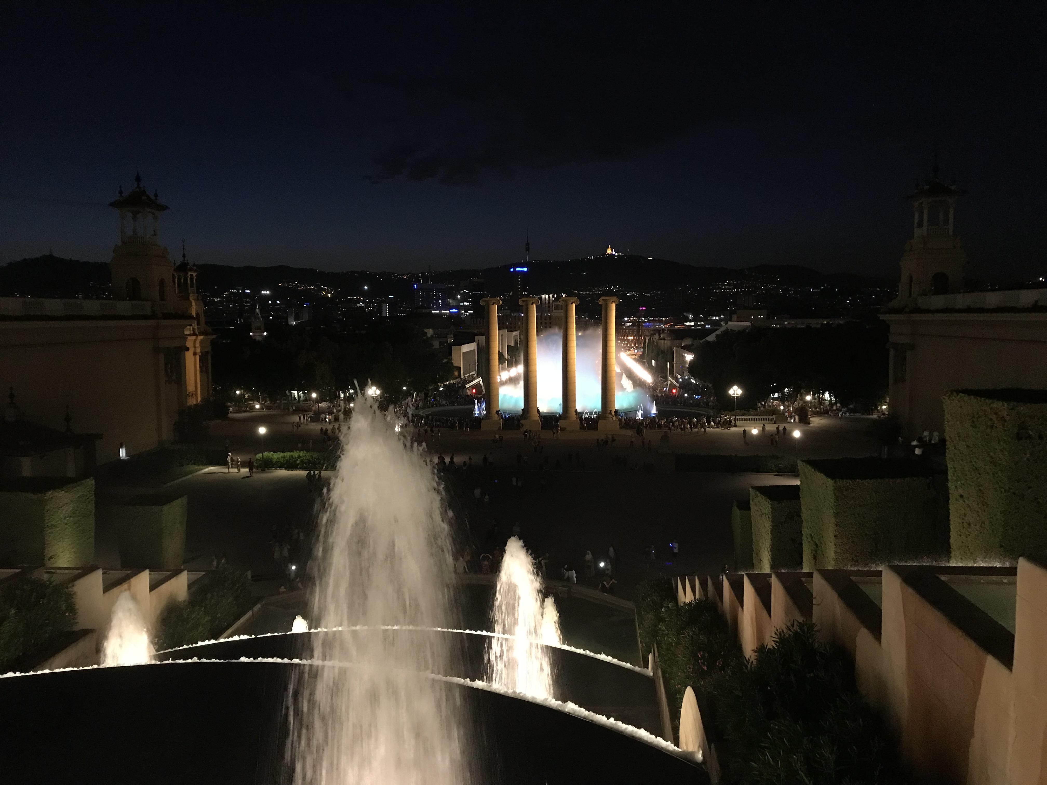Font Màgica de Montjuïc(マジカ噴水)