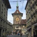 スイスの首都ベルンで野宿