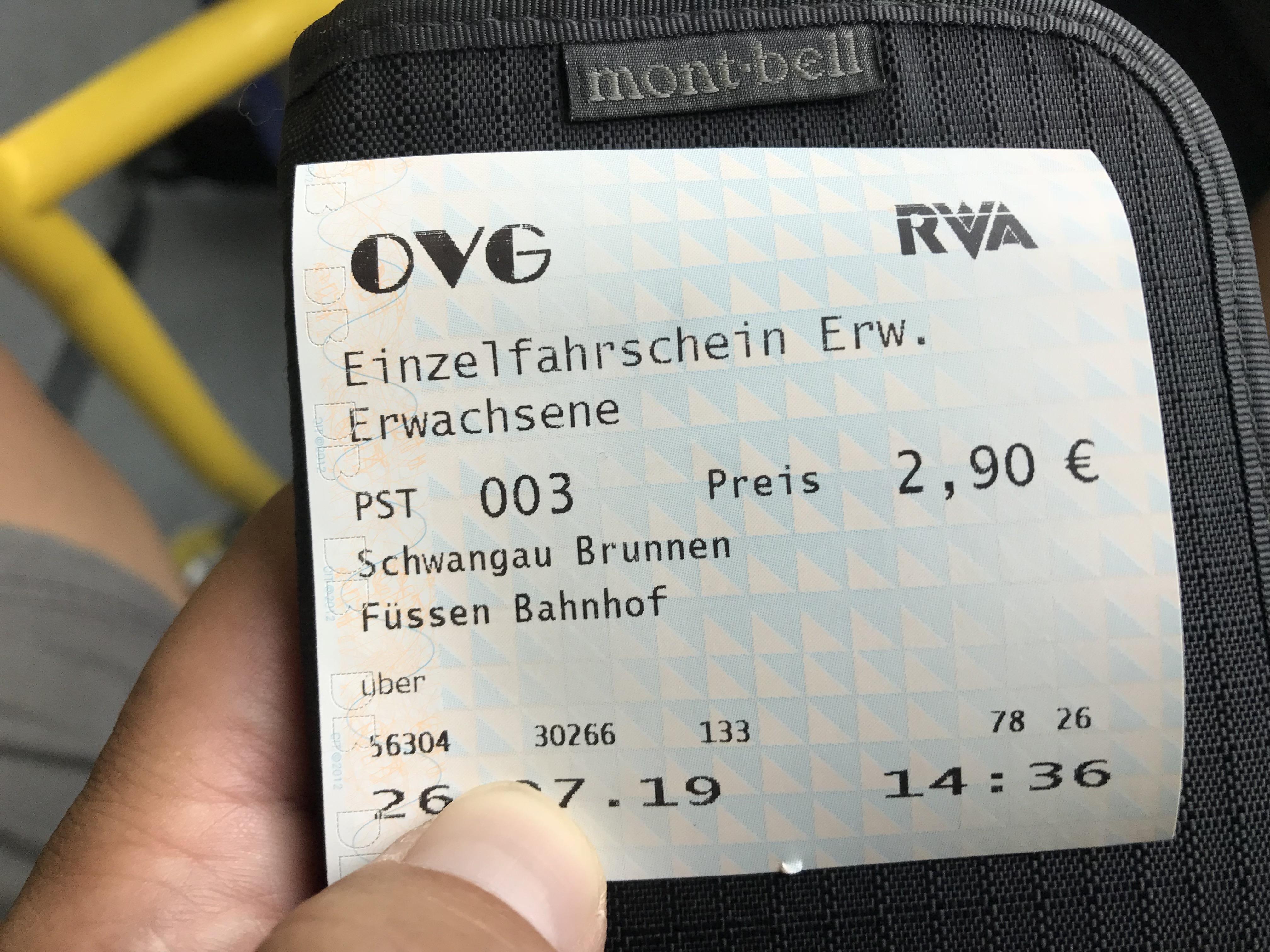 フュッセン Füssen