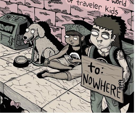 貧乏旅行者