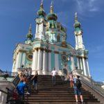 キエフで1年ぶりに旅仲間と再会