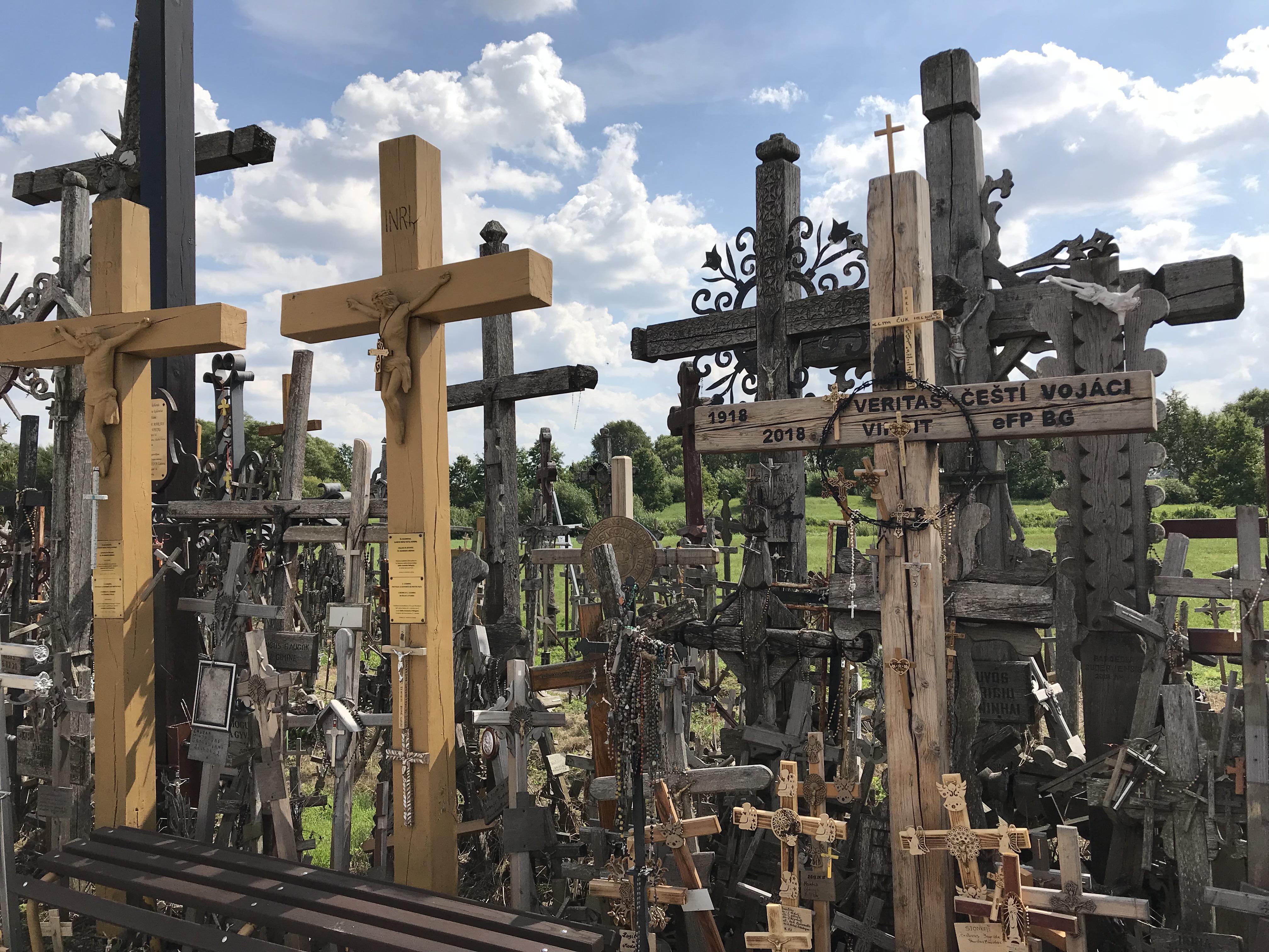 シャウレイから十字架の丘