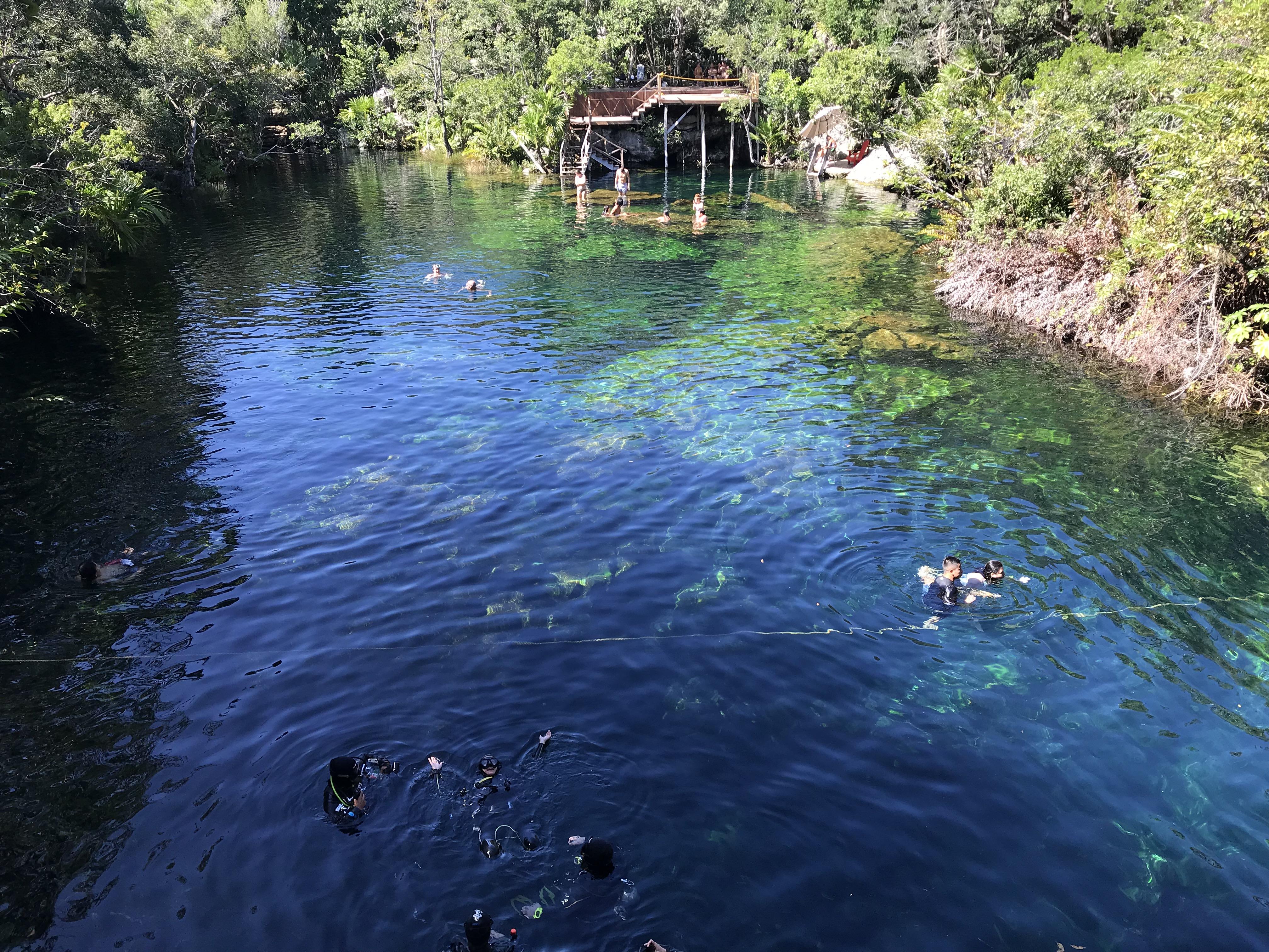 Cenote, Jardín Del Eden