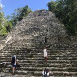 密林の中の寺院 コバ遺跡