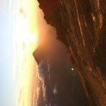 アカテナンゴ山からの朝日と1日ぶりのアンティグア