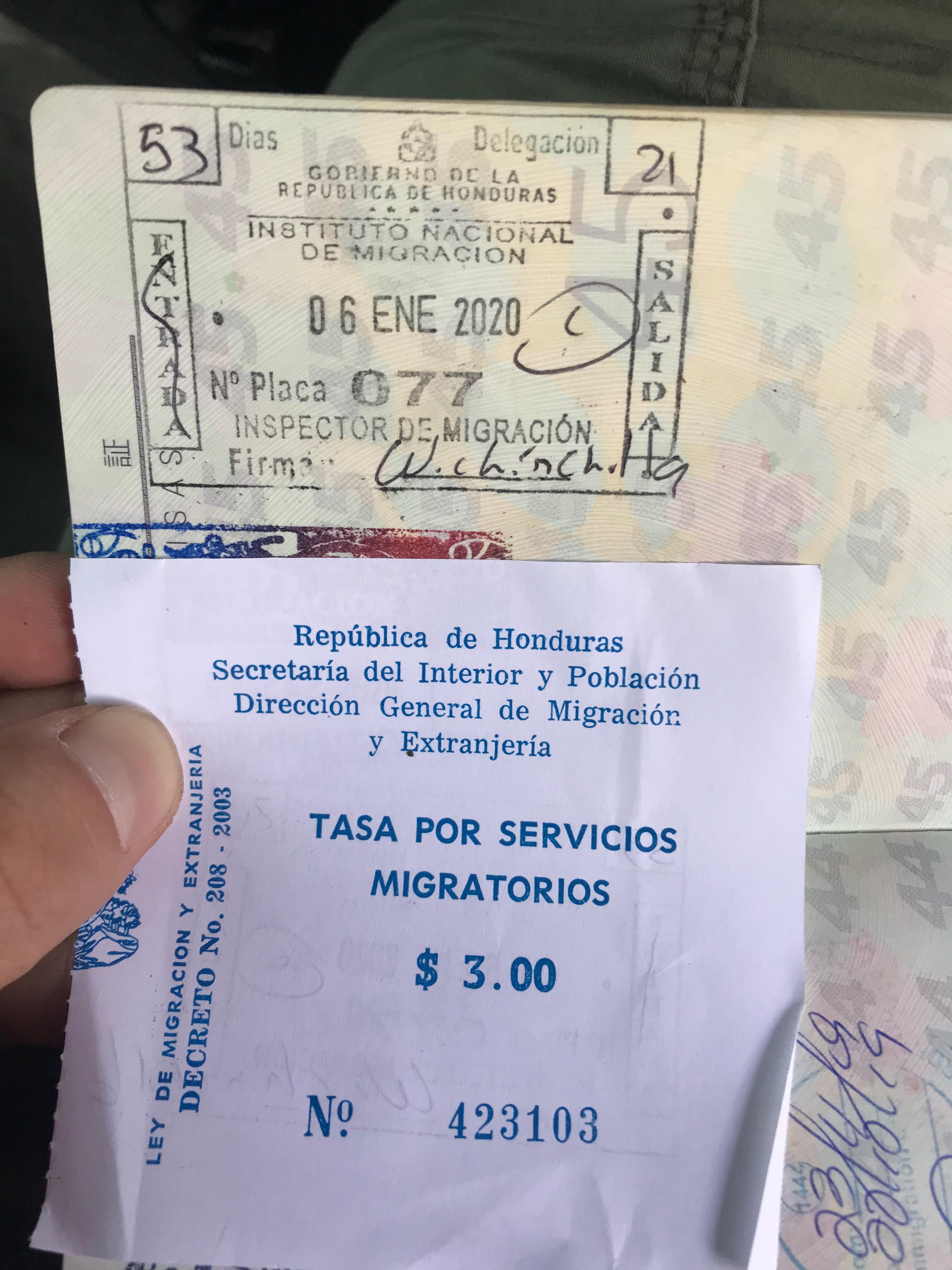 エルサルバドル&ホンジュラス国境