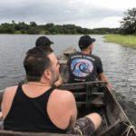 アマゾンツアー1日目 アマゾンに住むイルカ