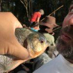 アマゾンツアー2日目 アマゾンでピラニアを釣って食べてみよう