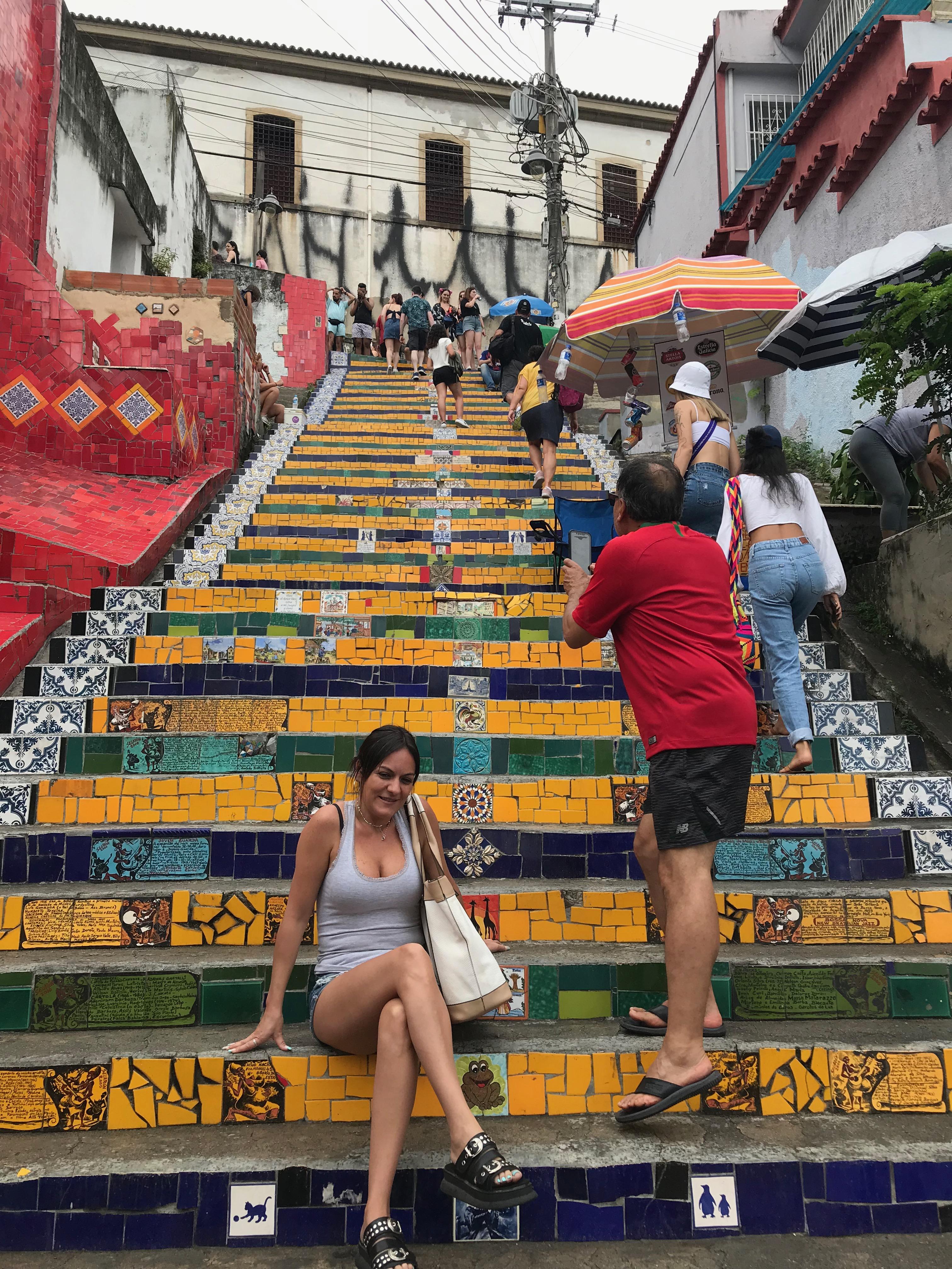 Escadaria Selarónセラロン階段